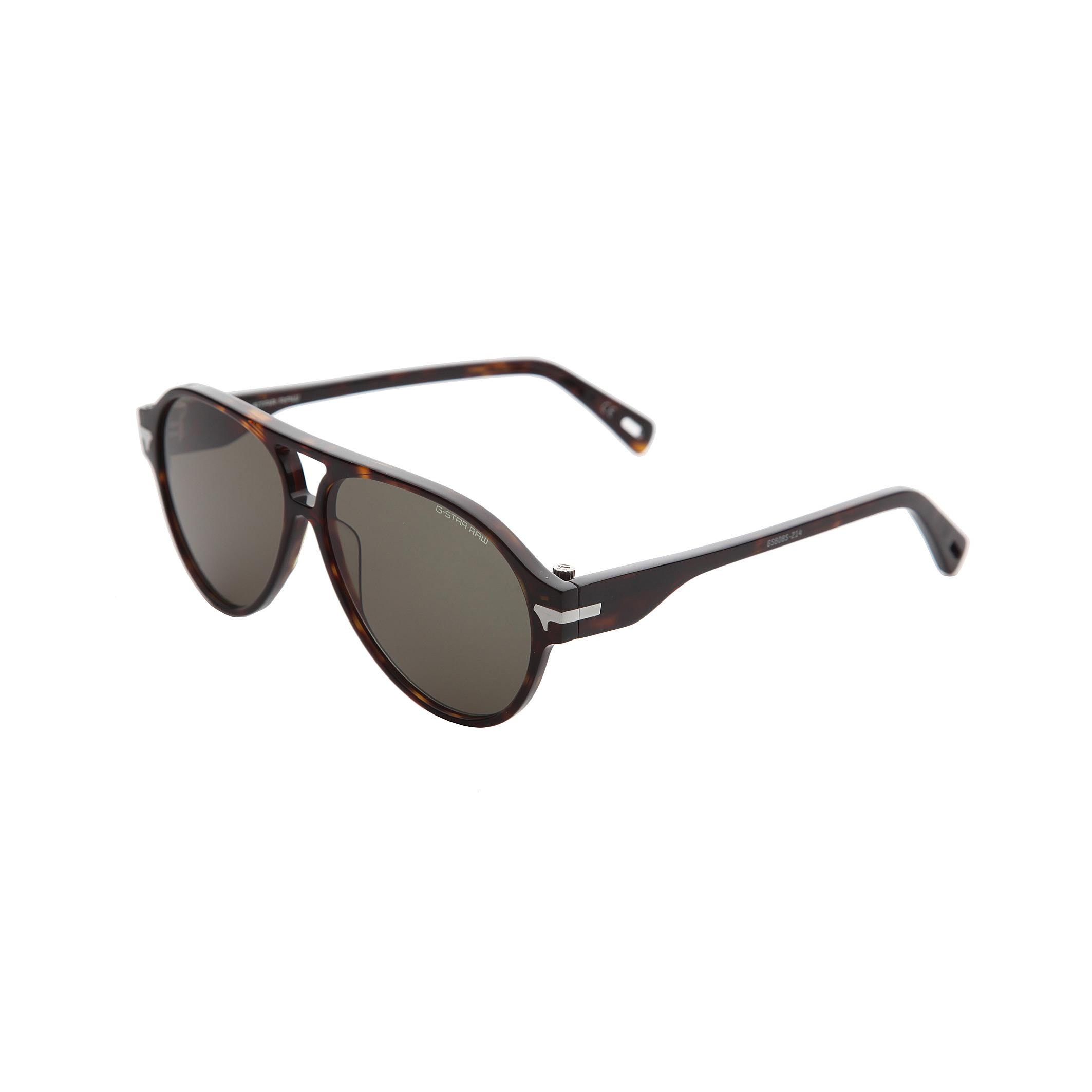 G-Star Mens Thick Frame Aviator Style Sunglasses