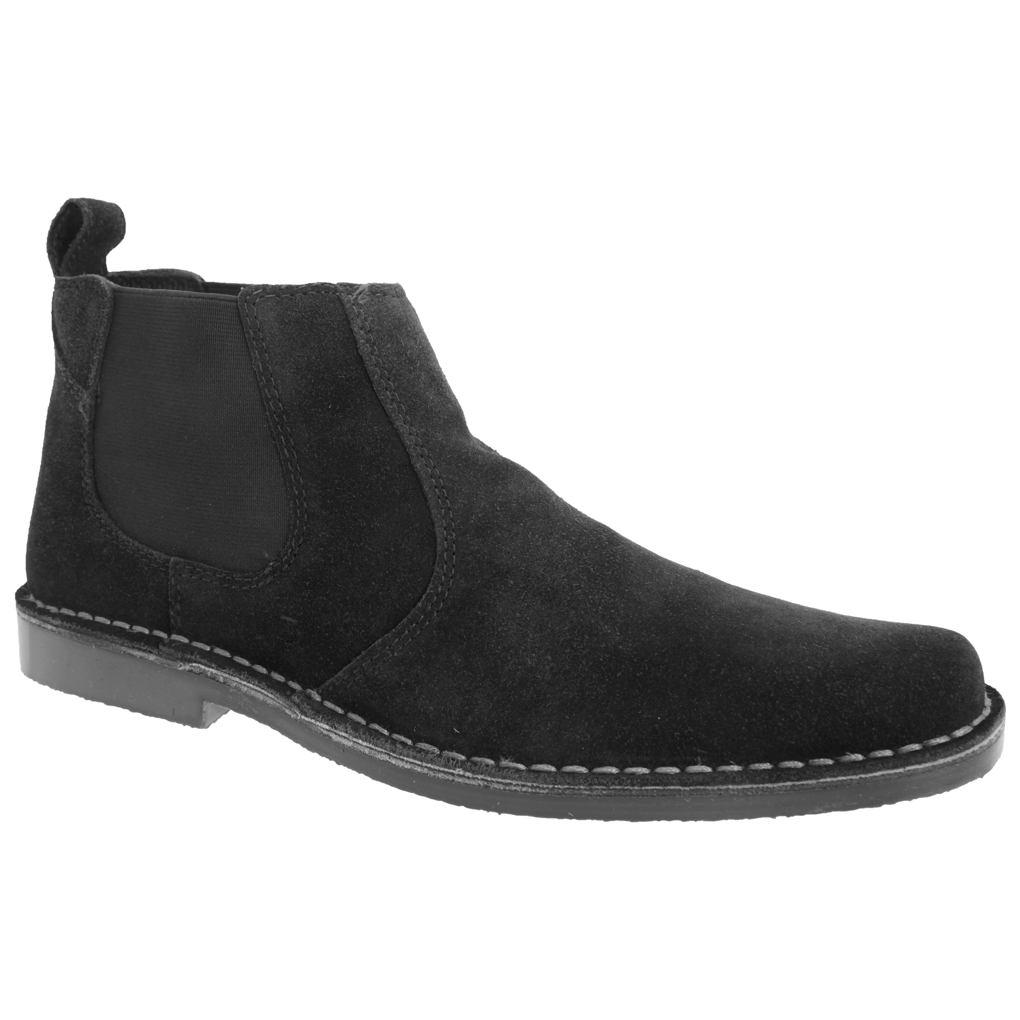 roamers mens real suede classic casual desert ankle boots shoes sizes 7 13 ebay. Black Bedroom Furniture Sets. Home Design Ideas