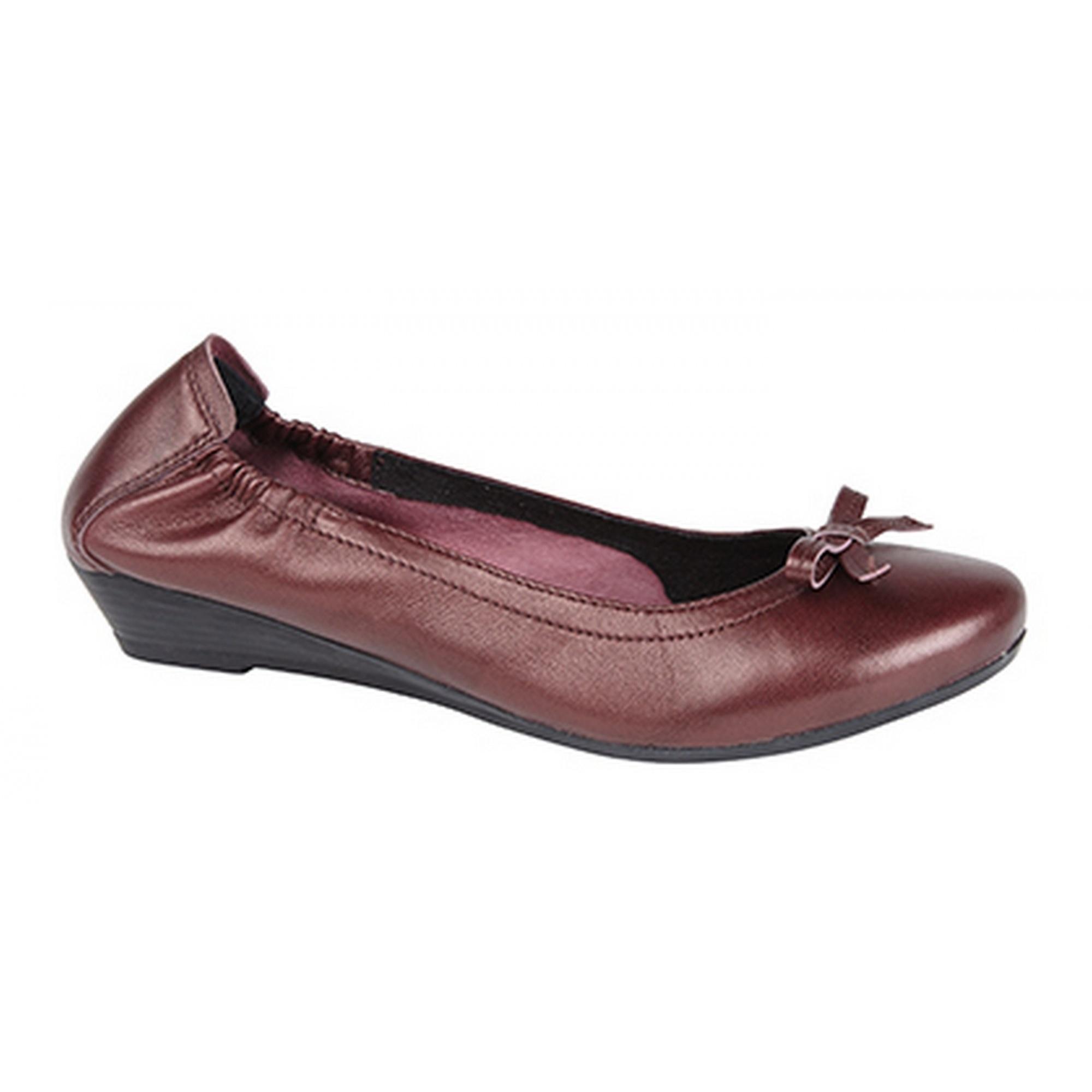 mod comfys womens softie leather ballerina shoes ebay