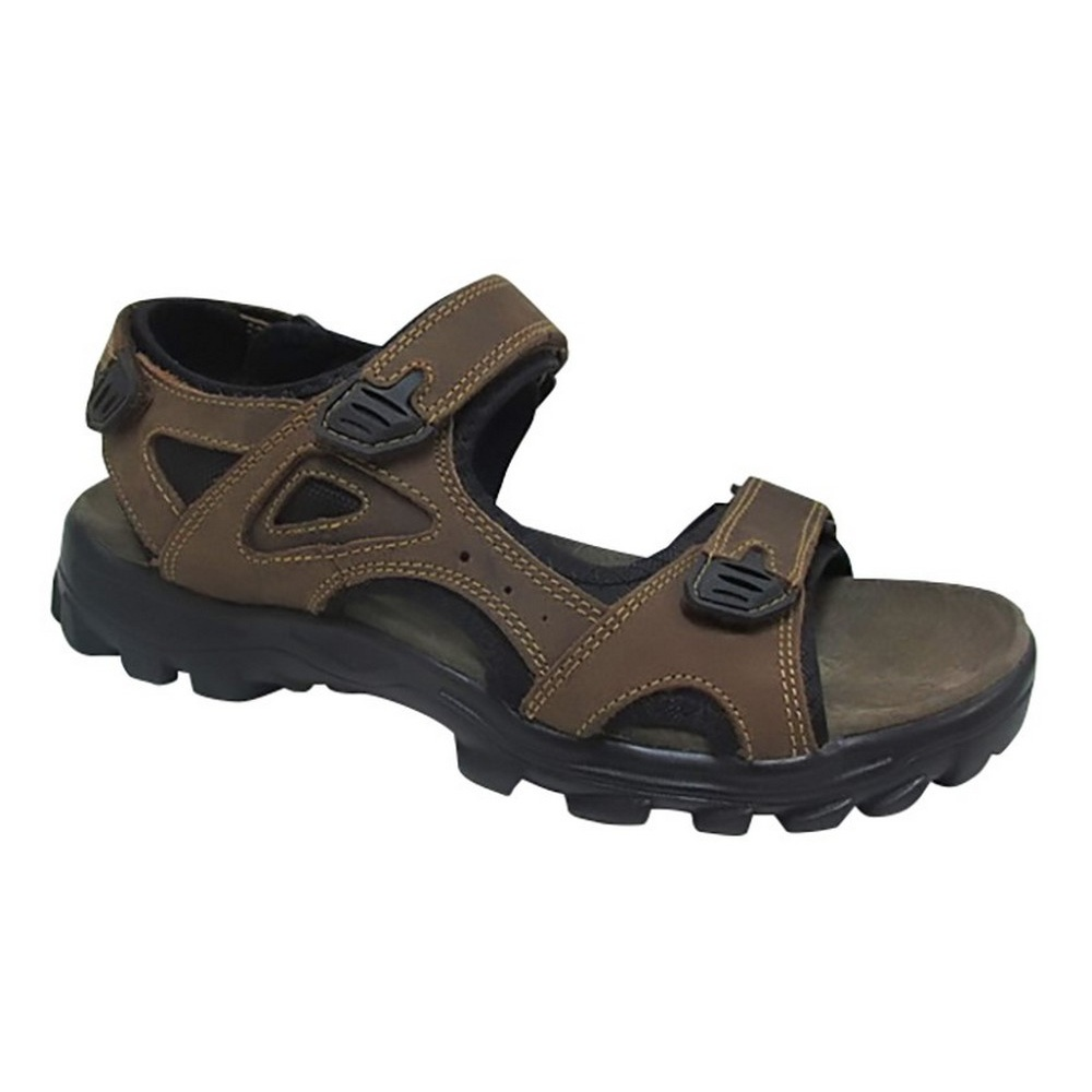 DF1724 Roamers Mens Three Point Touch Fastening Sandals