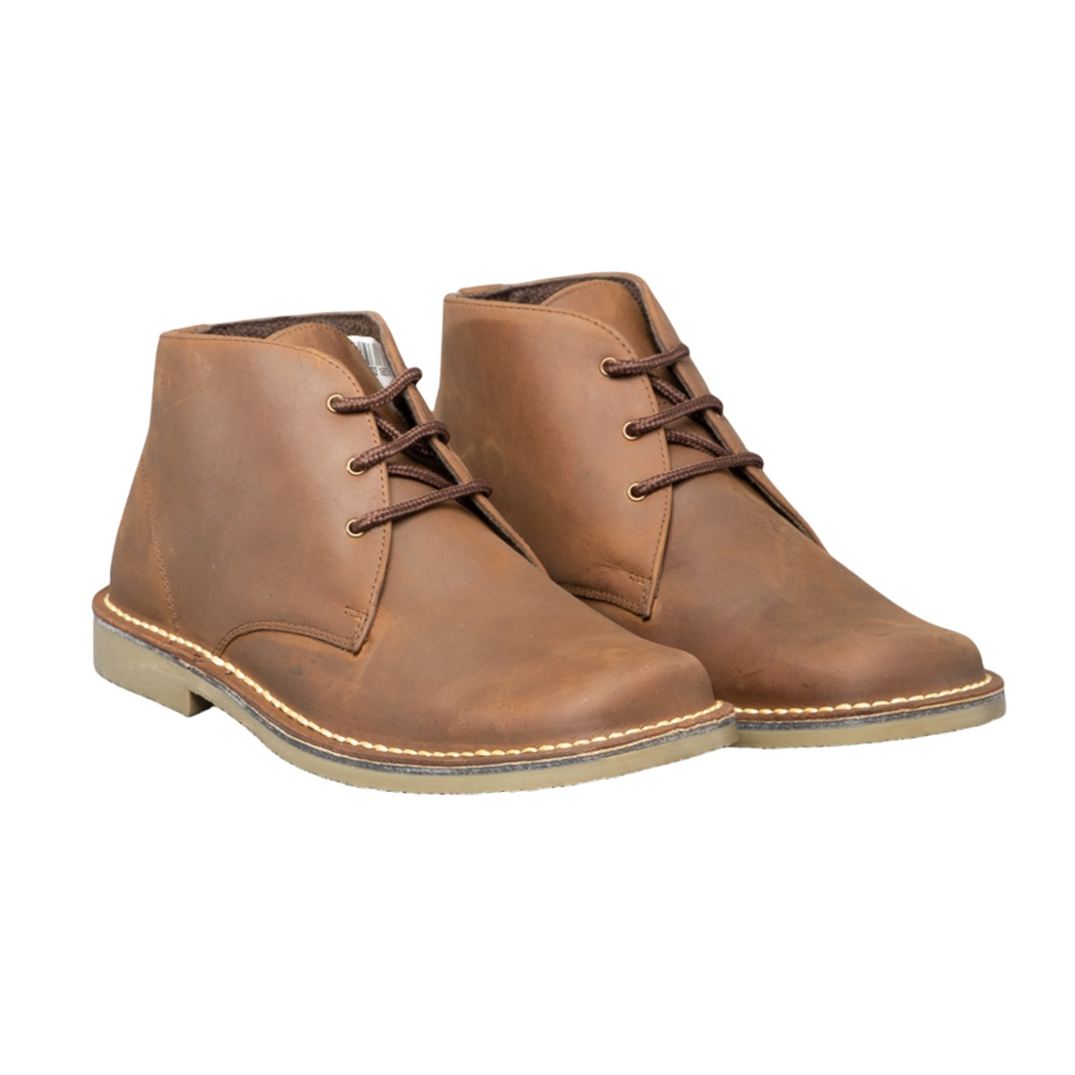 roamers mens waxy leather fulfit casual desert ankle boots shoes sizes 7 15 ebay. Black Bedroom Furniture Sets. Home Design Ideas