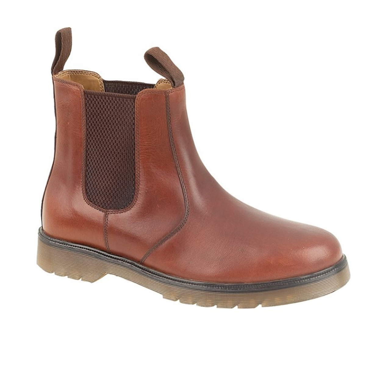 grafters mens plain leather chelsea boots ebay