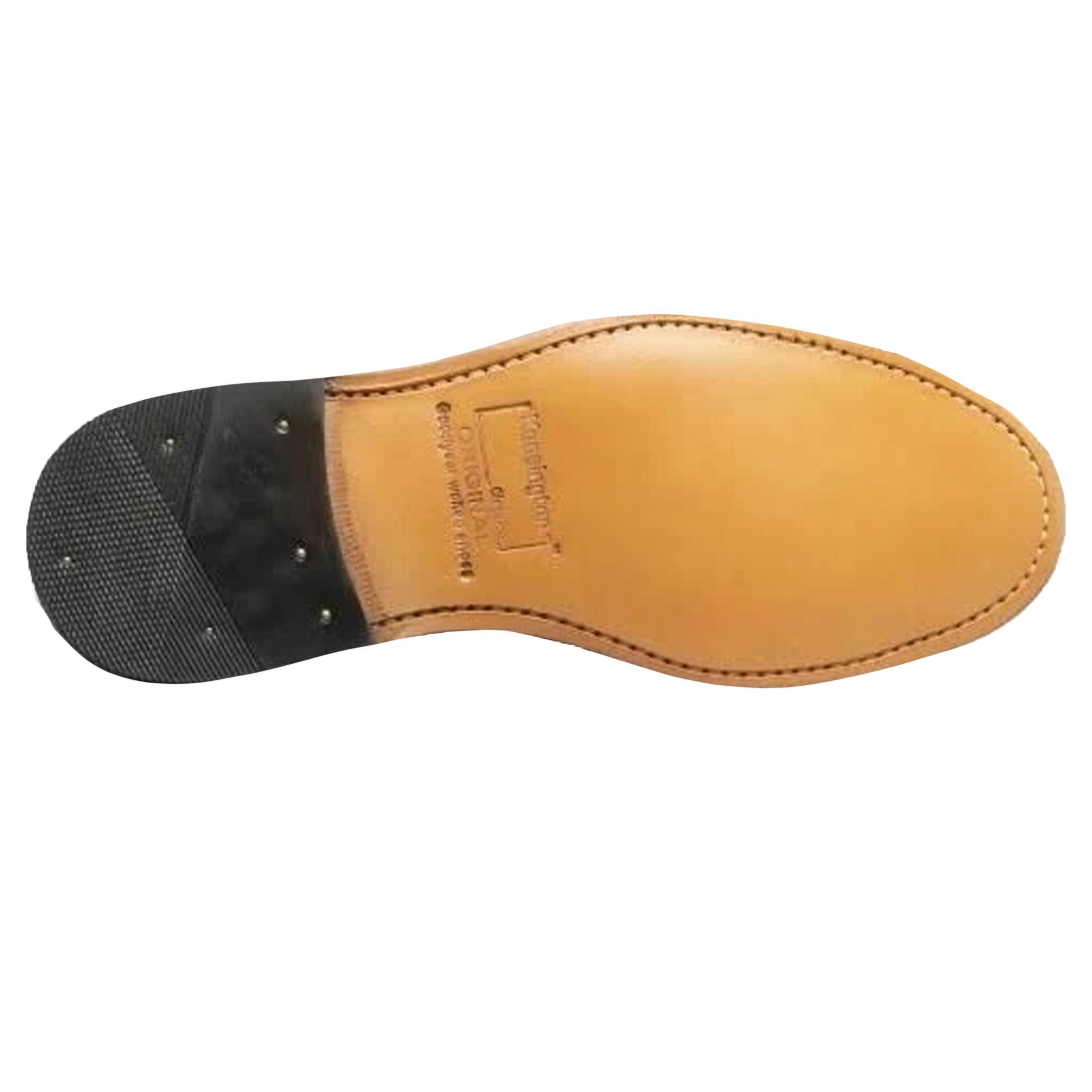 kensington classics mens all leather american brogue