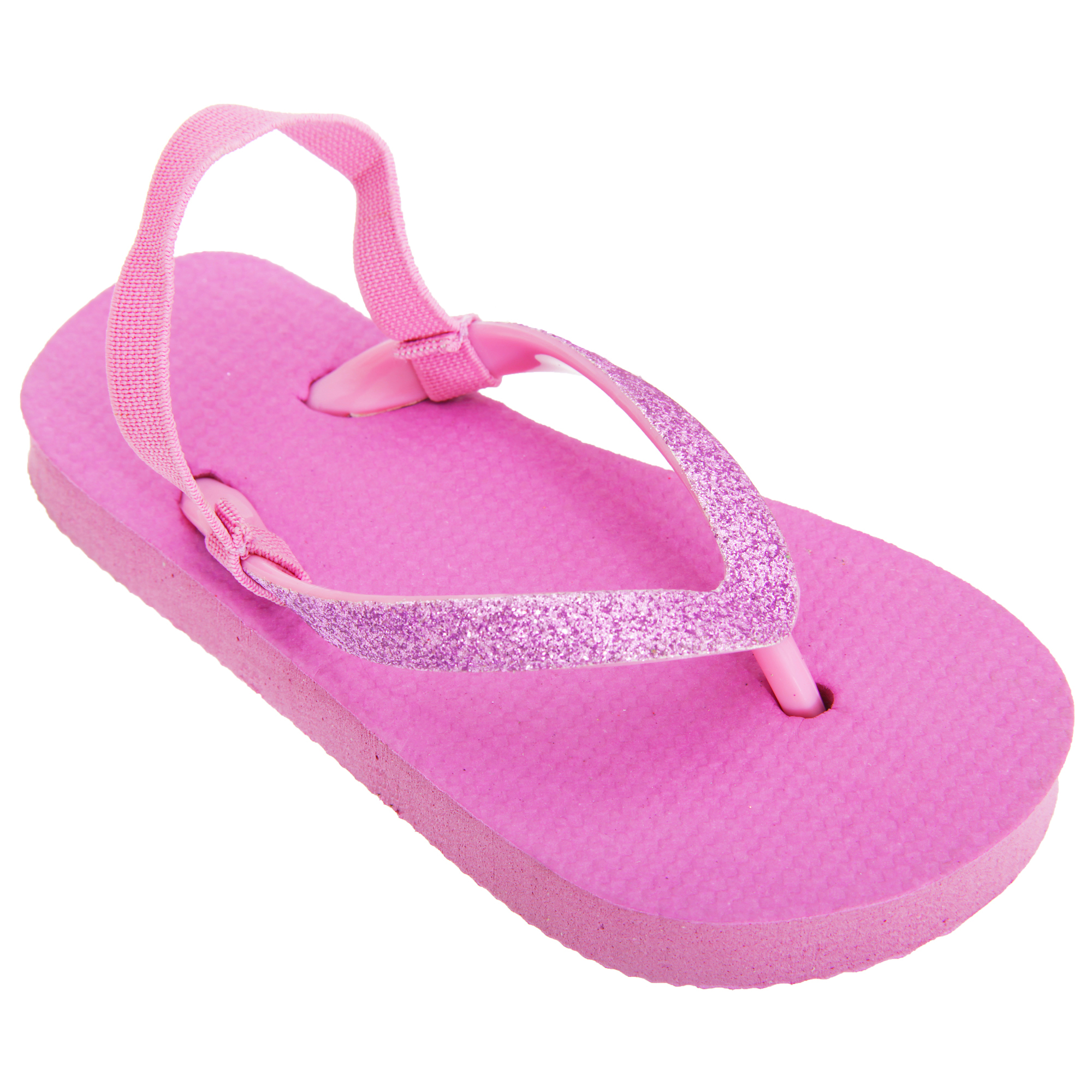 floso kinder m dchen flip flops mit glitter riemen ebay. Black Bedroom Furniture Sets. Home Design Ideas