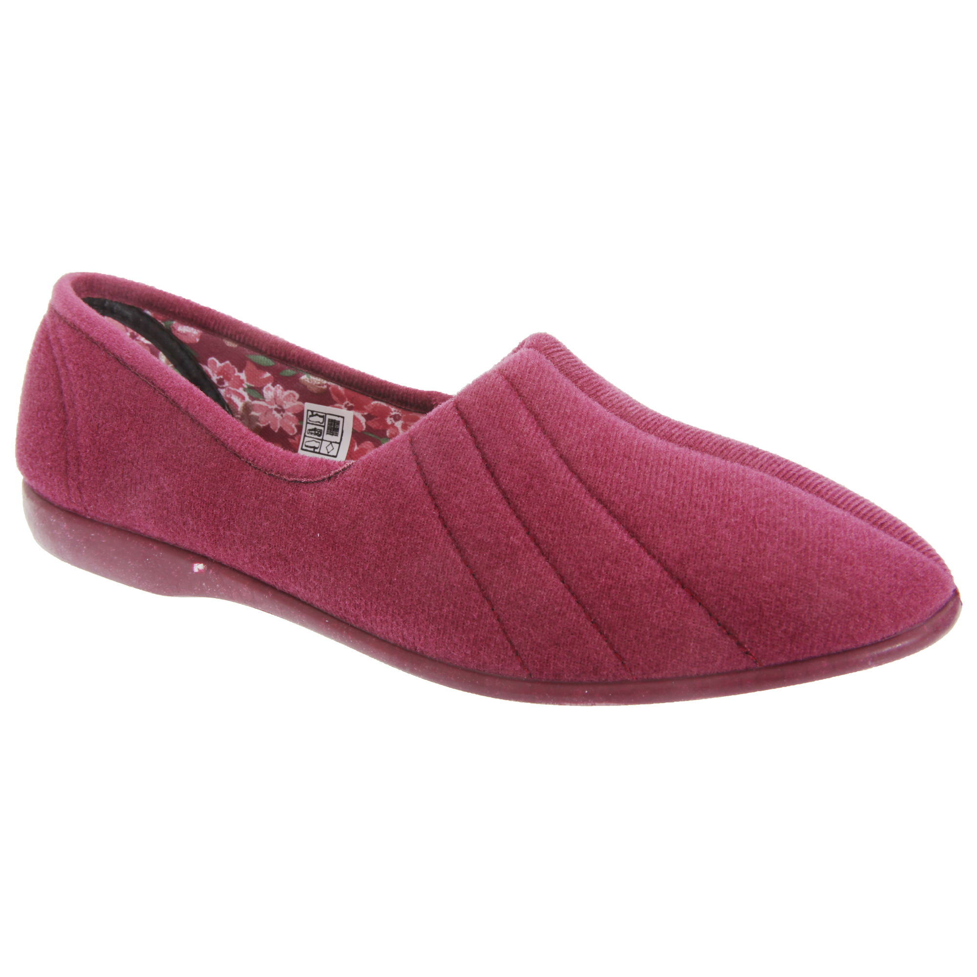 GBS Audrey Womens /Ladies Indoor House Slipper Shoes ...