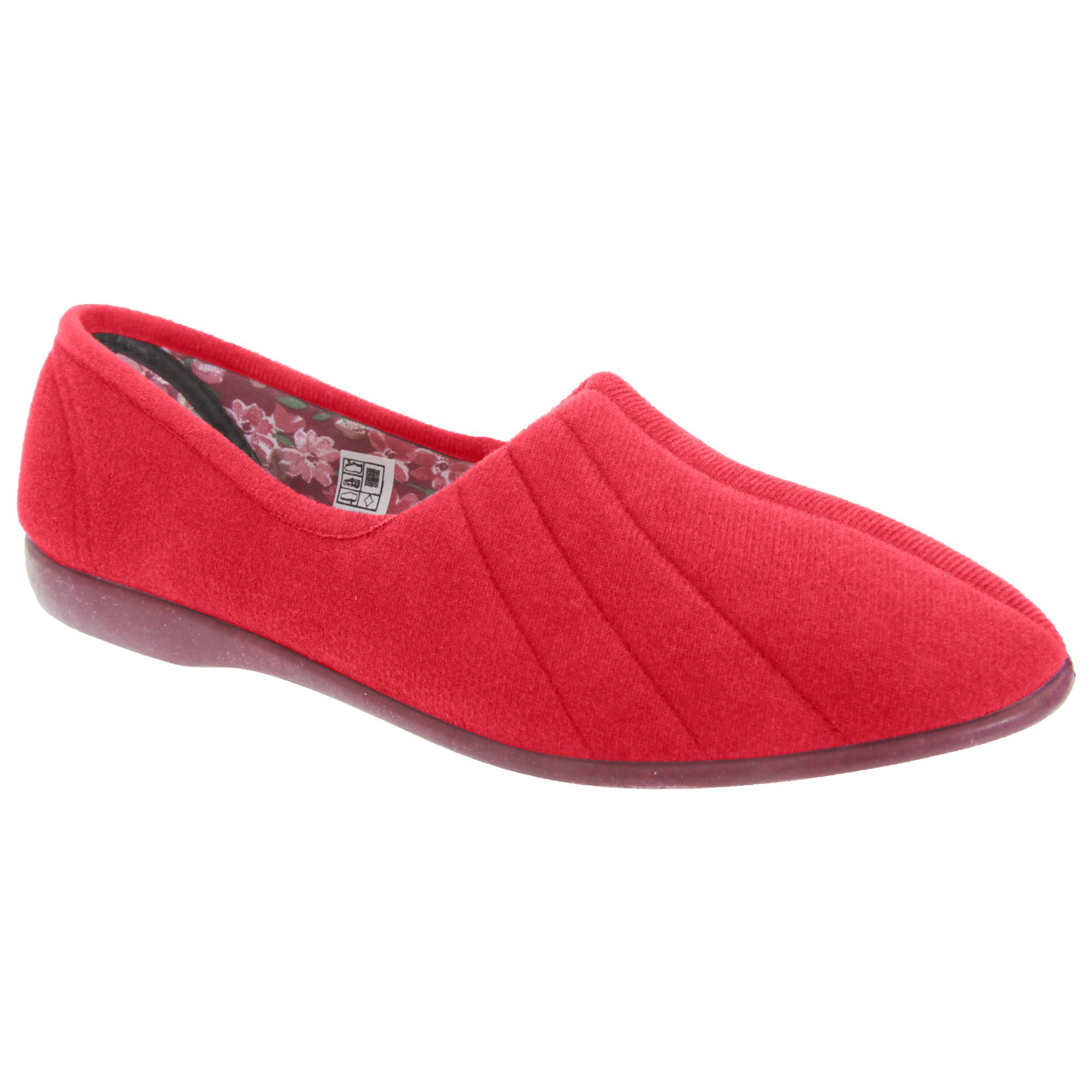 Ladies Slip On House Shoes