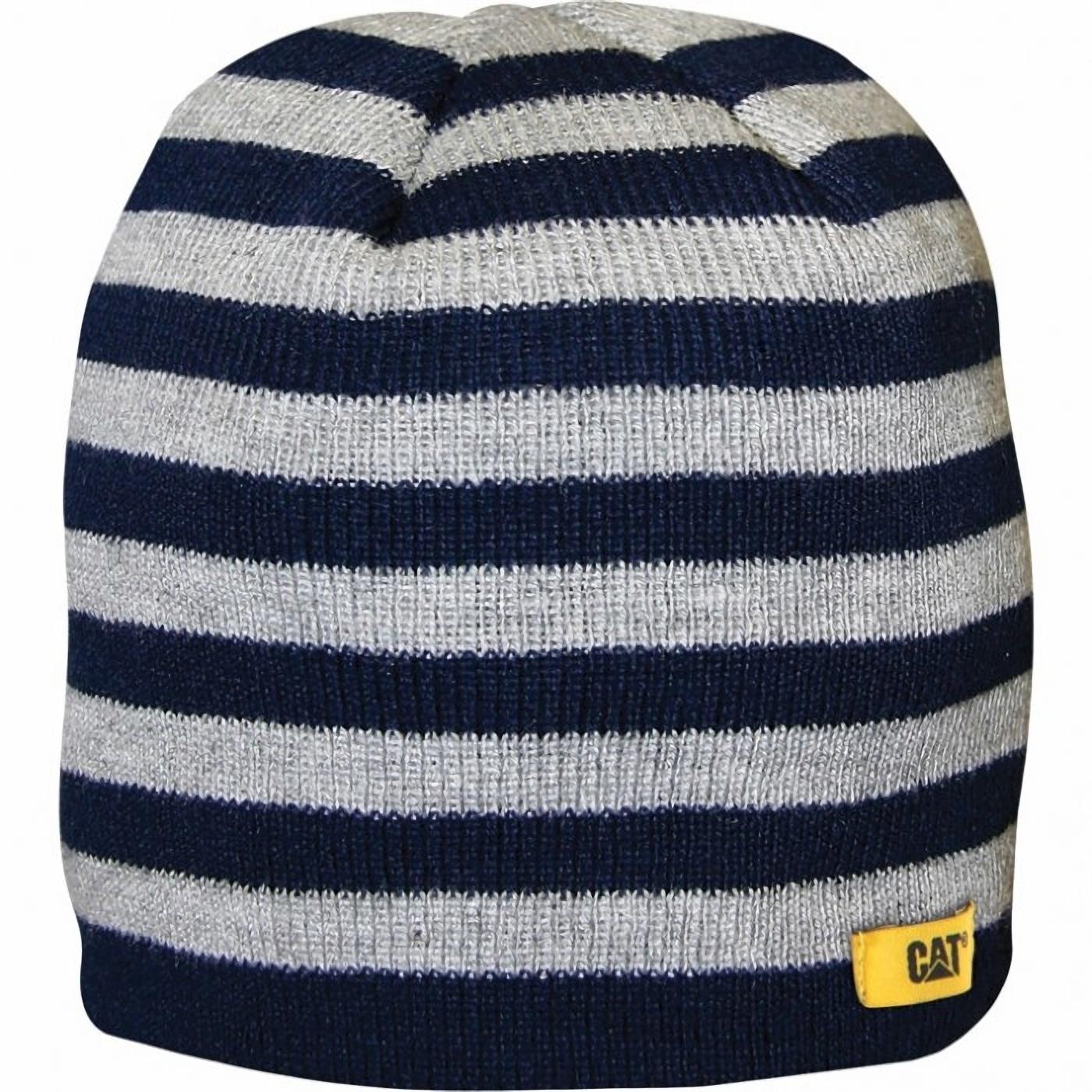 caterpillar 1128041 baby striped knitted cap baseball caps