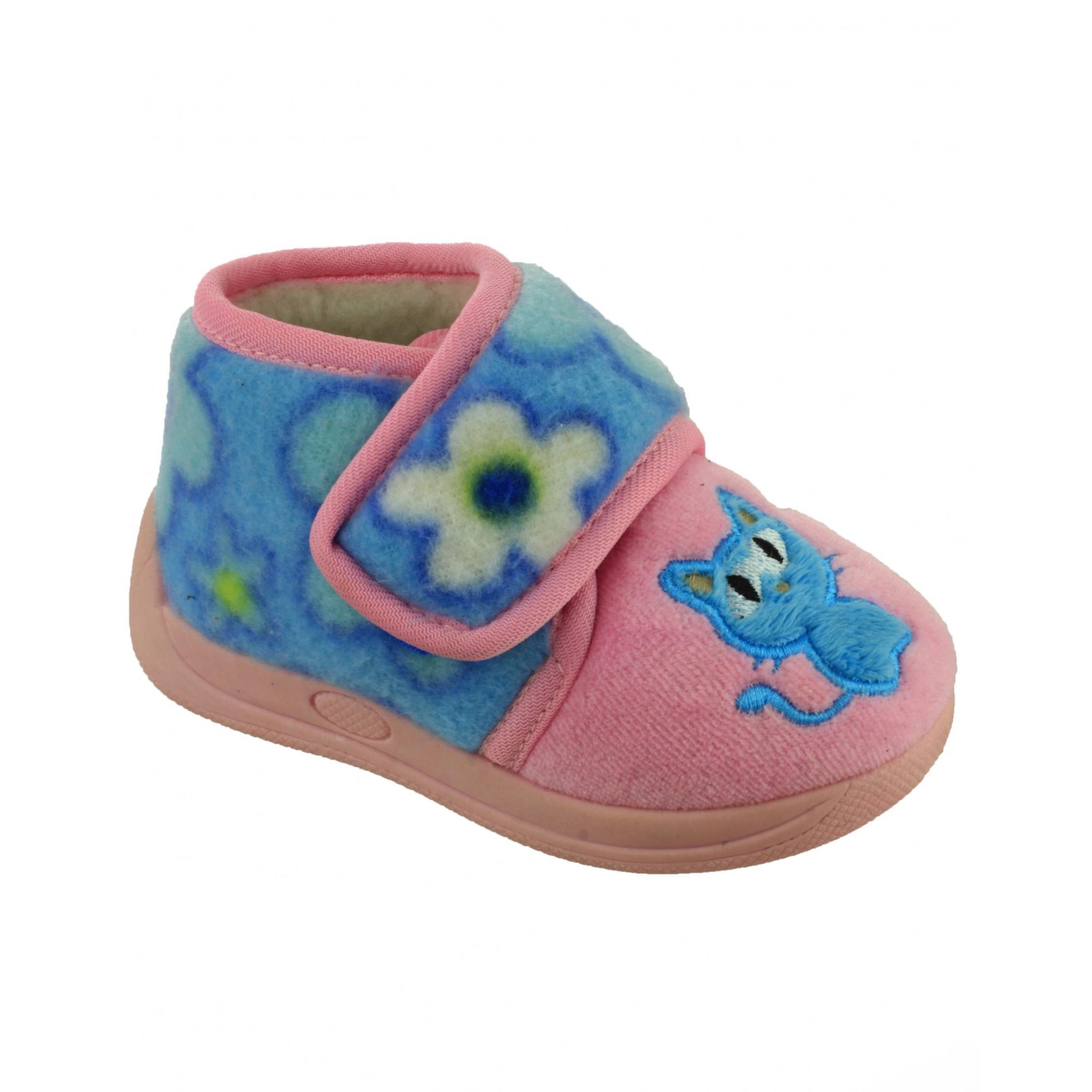 Mirak zapatillas de andar por casa con cierre de velcro modelo dinky para ni o ebay - Zapatillas andar por casa originales ...