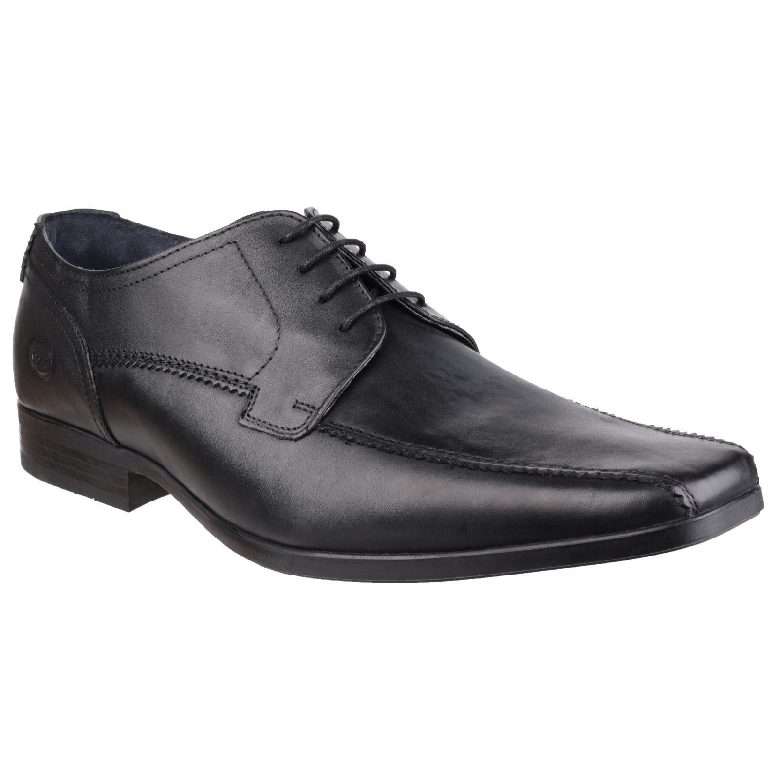 base lytham excel mens leather lace up formal smart