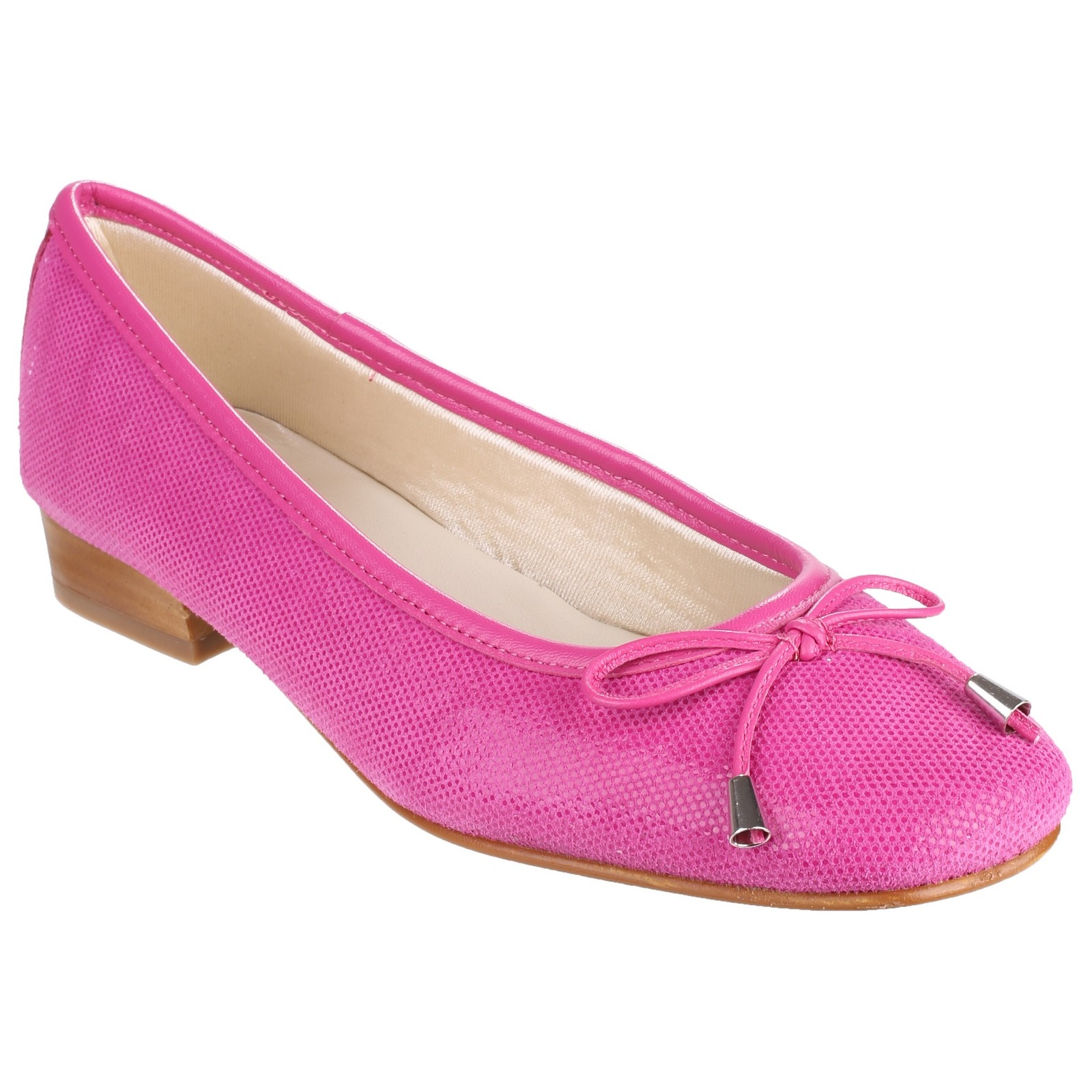 Riva provence fish suede womens ladies smart ballerina for Womens fishing shoes
