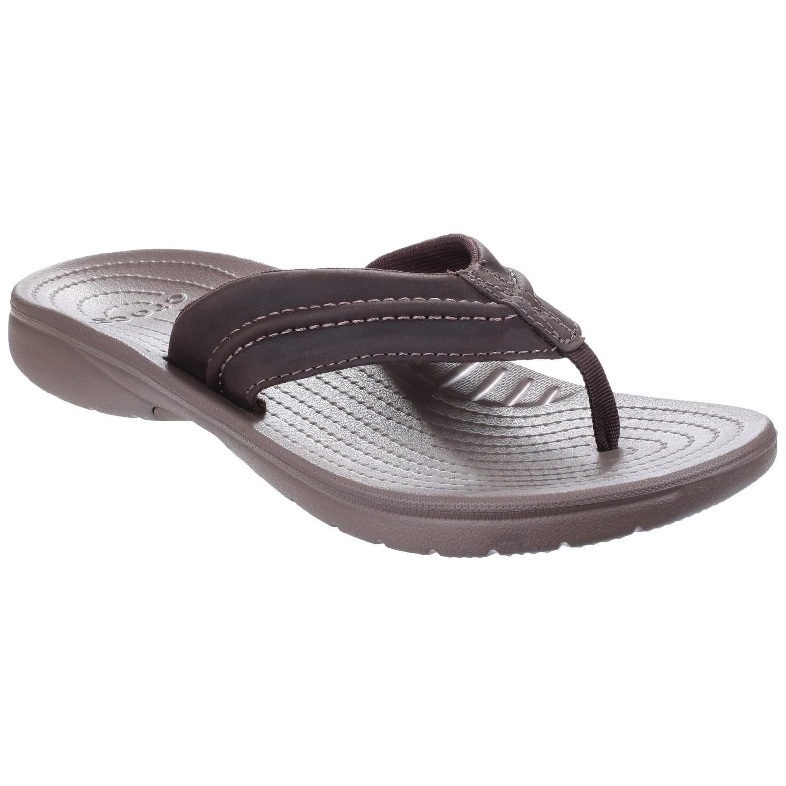 crocs mens yukon mesa summer toe post flip flops sandals. Black Bedroom Furniture Sets. Home Design Ideas