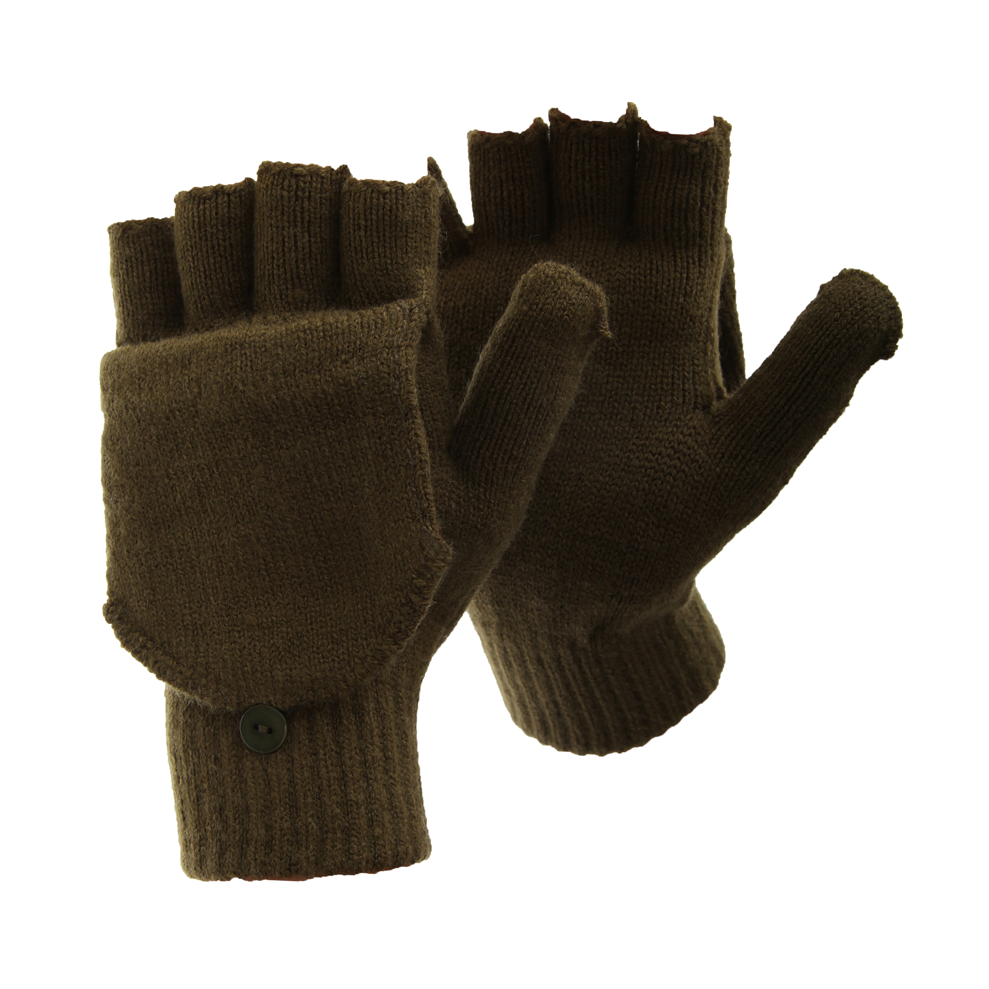 Fingerless driving gloves
