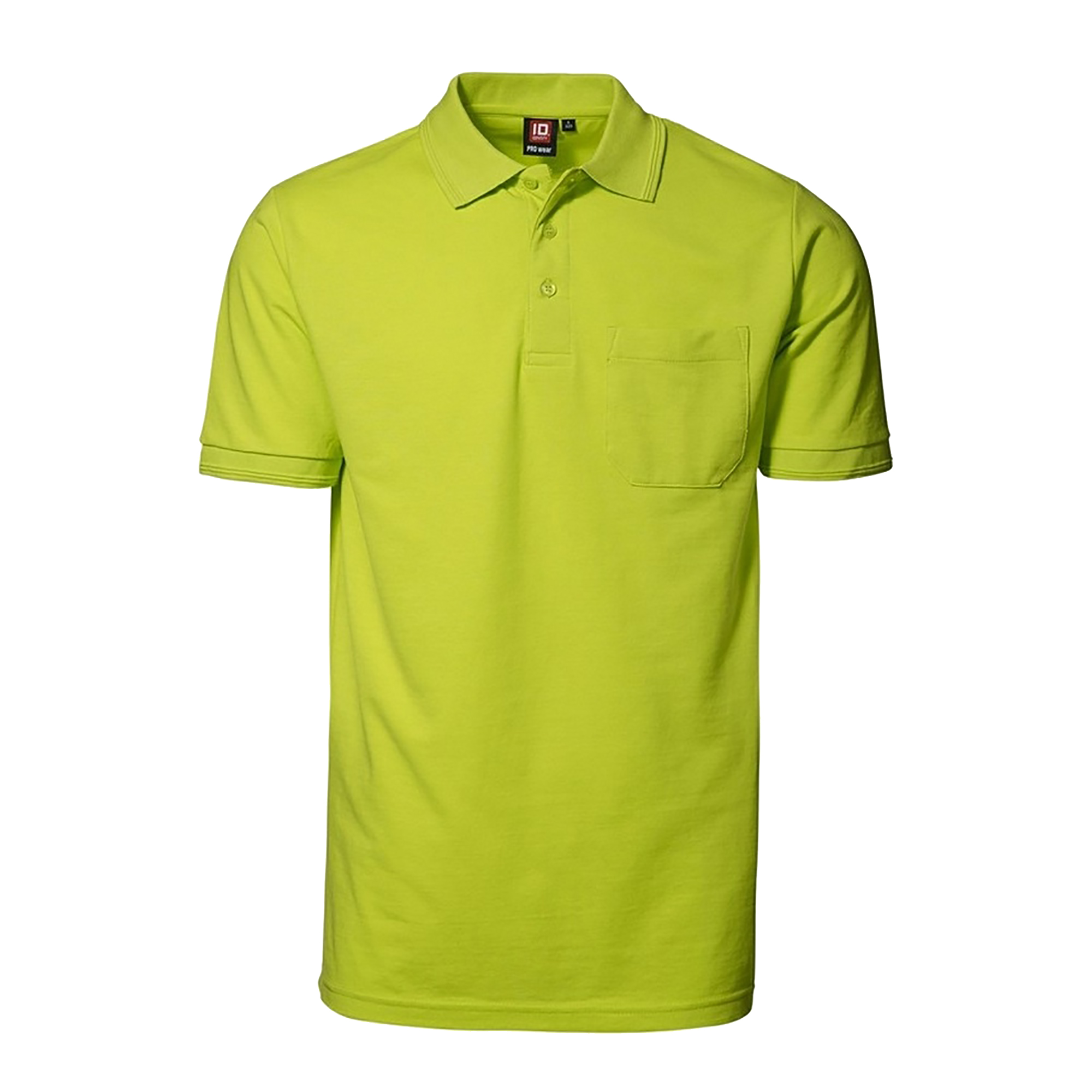 id mens pro wear short sleeve polo shirt with pocket ebay