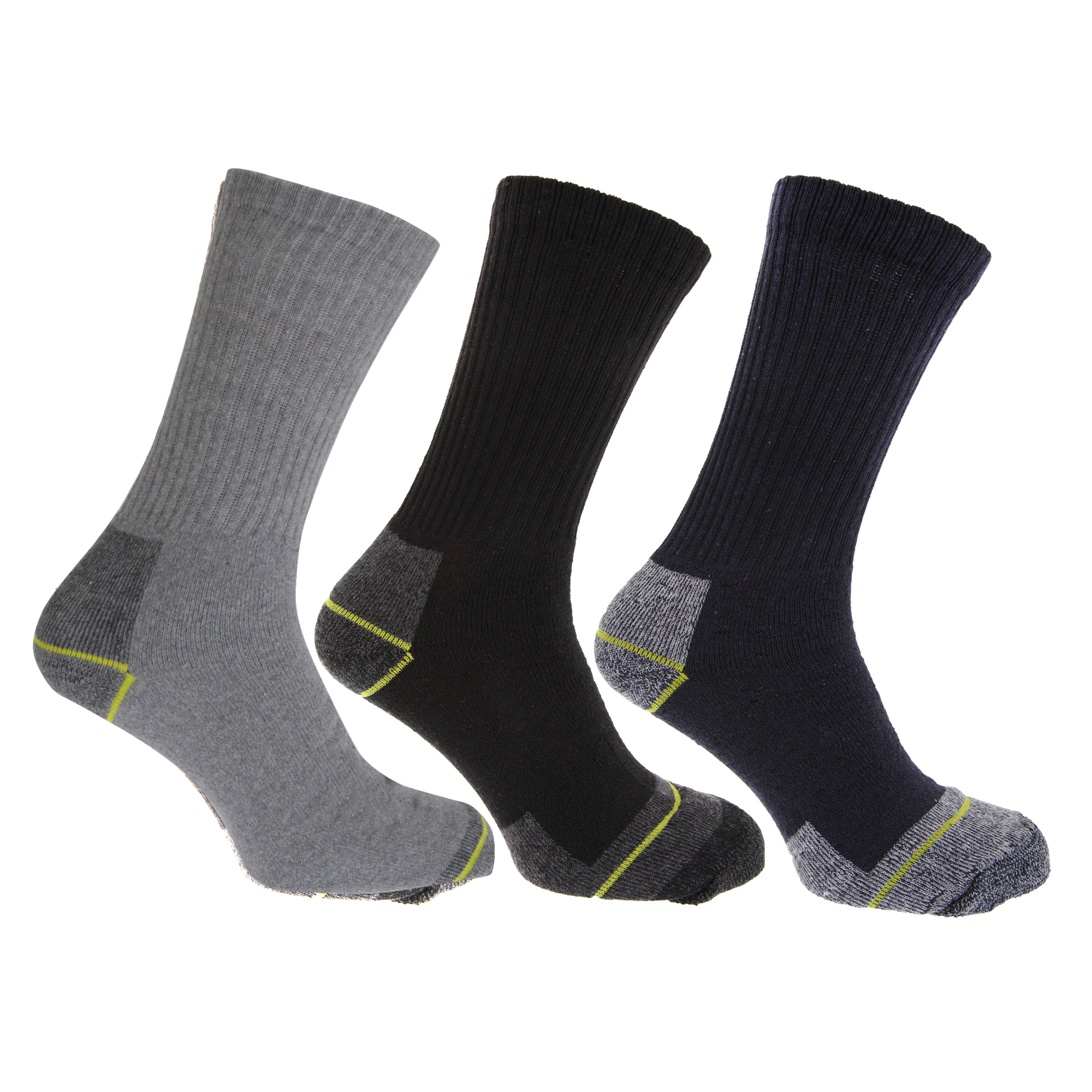 Large Size Mens Cushioned Socks 56