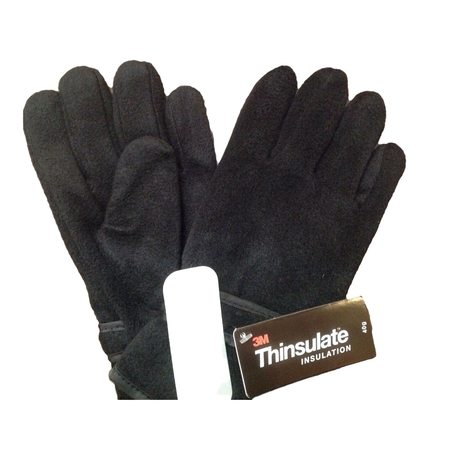 Ladies leather gloves with thinsulate - Floso Ladies Womens Thinsulate Polar Fleece Winter Thermal
