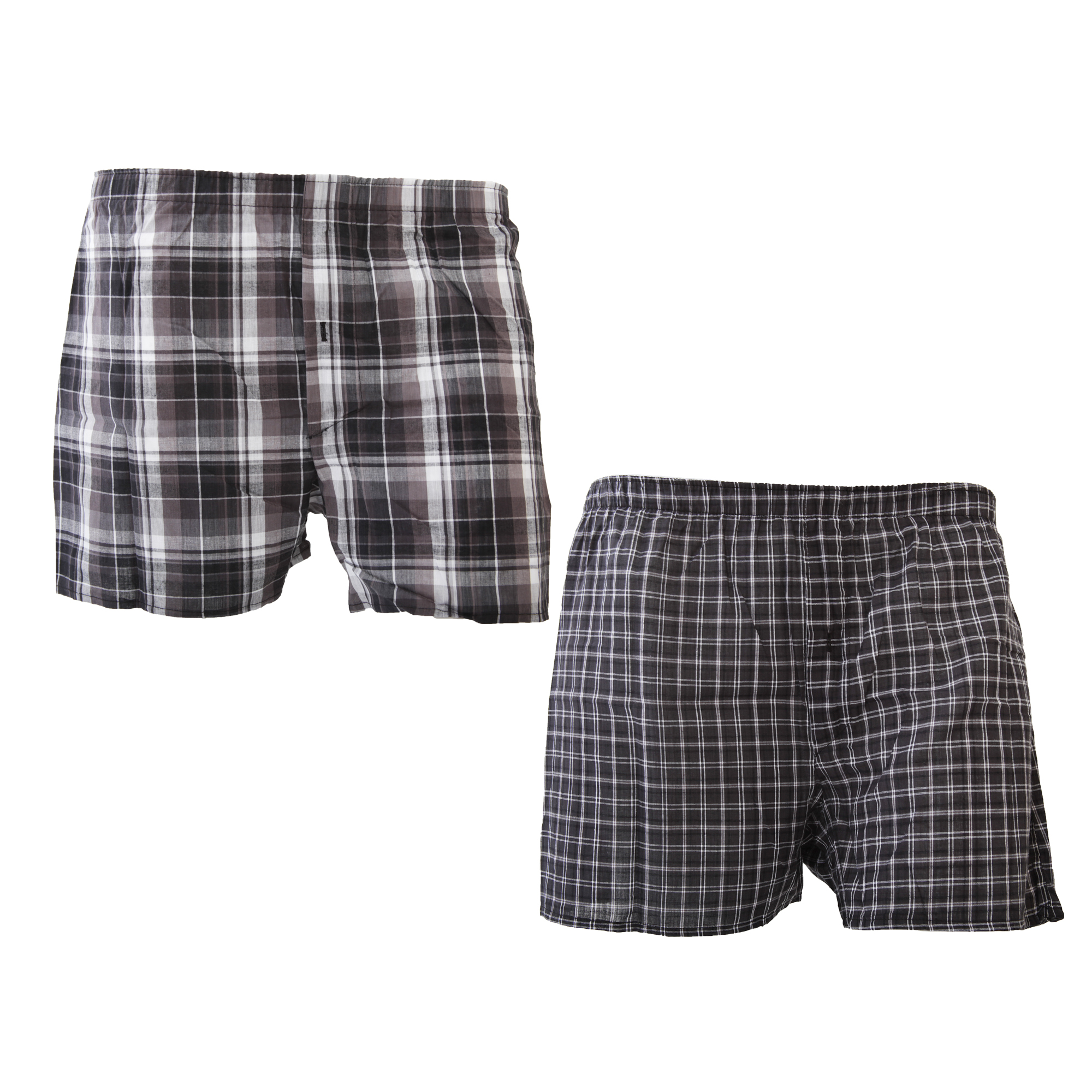 mens 100 cotton woven boxer shorts boxers underwear pack of 2 sizes s xl ebay. Black Bedroom Furniture Sets. Home Design Ideas