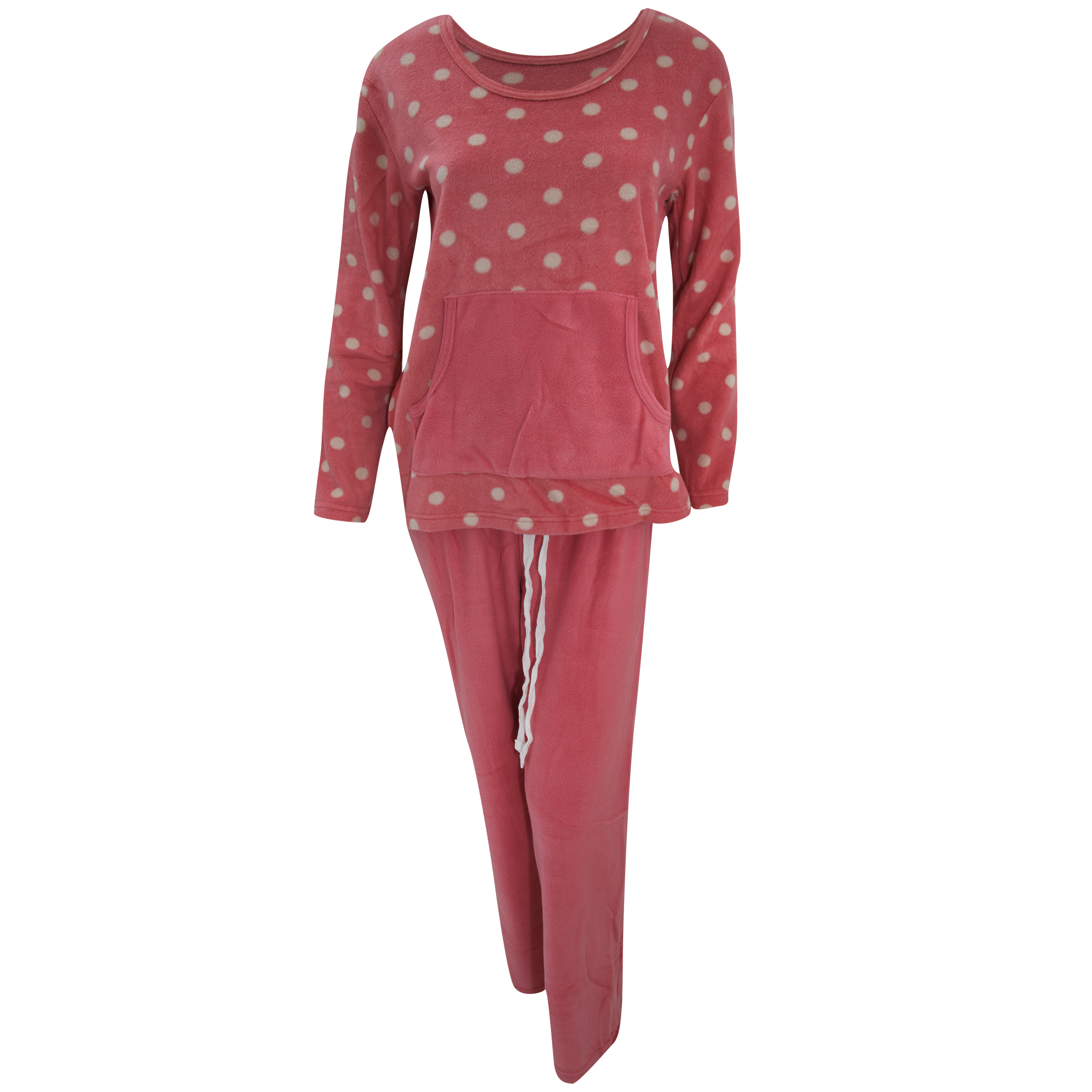 ensemble de pyjama en polaire femme ebay. Black Bedroom Furniture Sets. Home Design Ideas