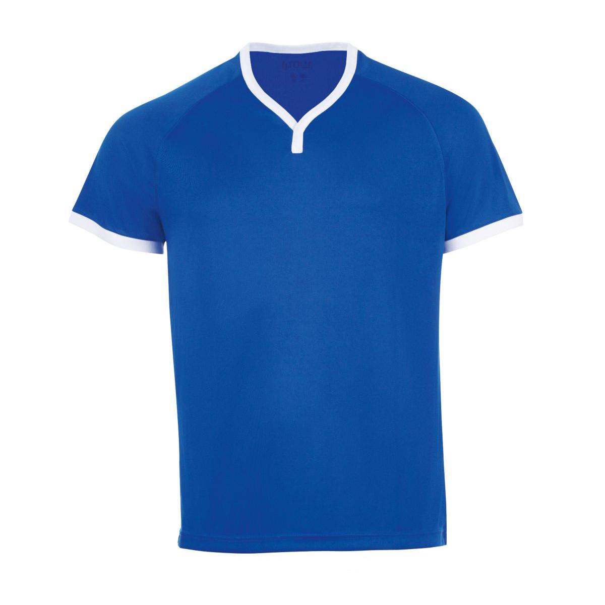 SOLS-Camiseta-de-manga-corta-con-cuello-de-pico-para-hombre-Modelo-Atletico