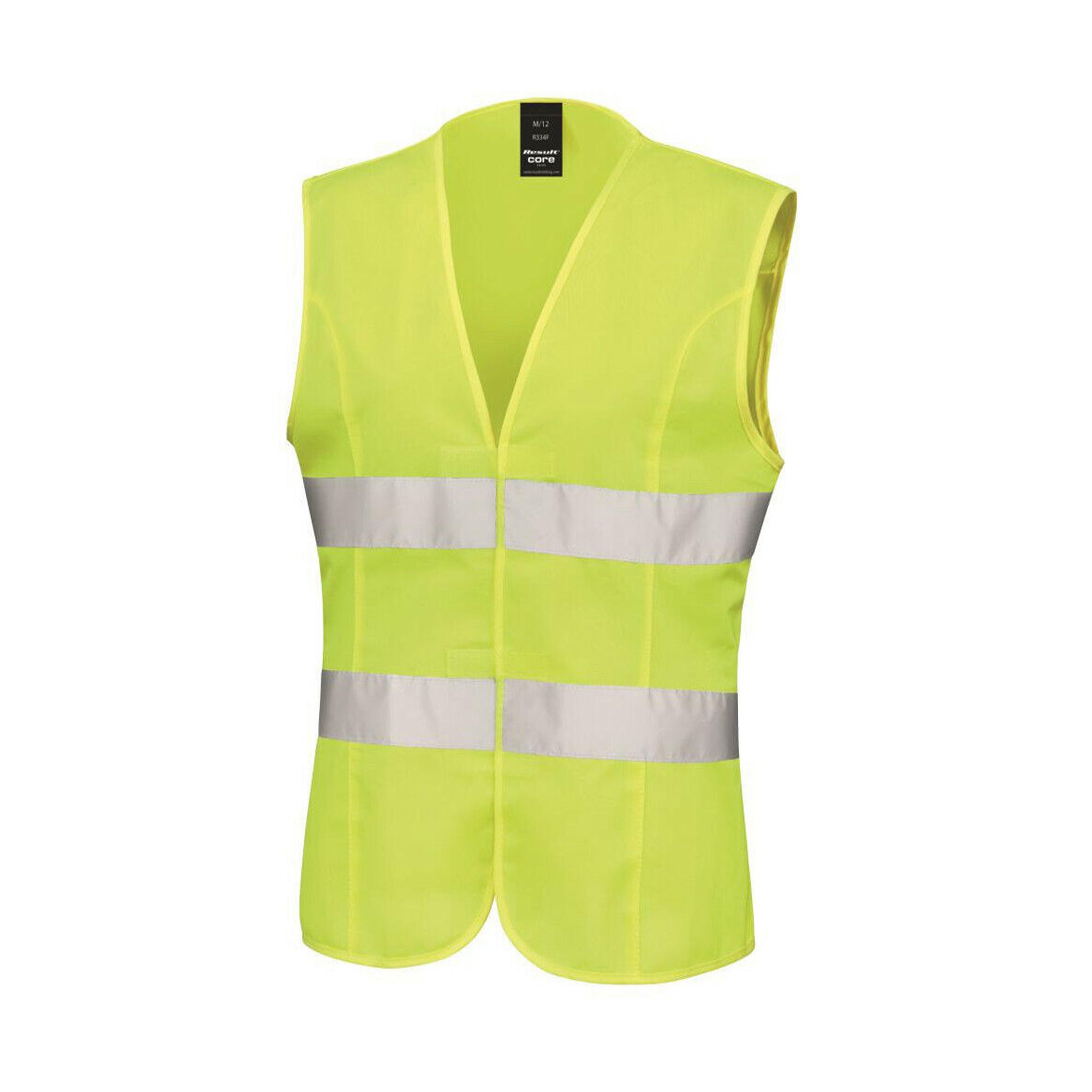 Result core womens ladies sleeveless hi vis vest ebay for Ikea safety vest