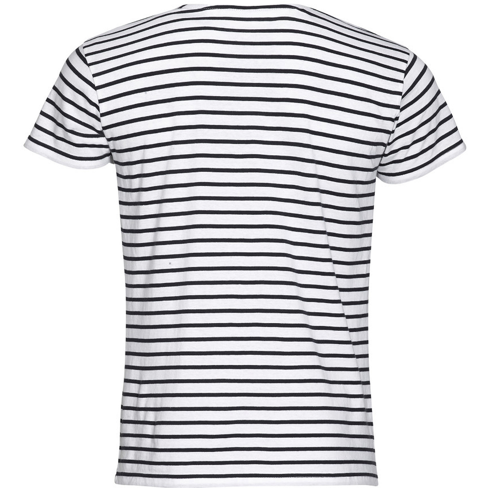 Sols mens miles striped short sleeve t shirt ebay for Mens short sleeve patterned shirts