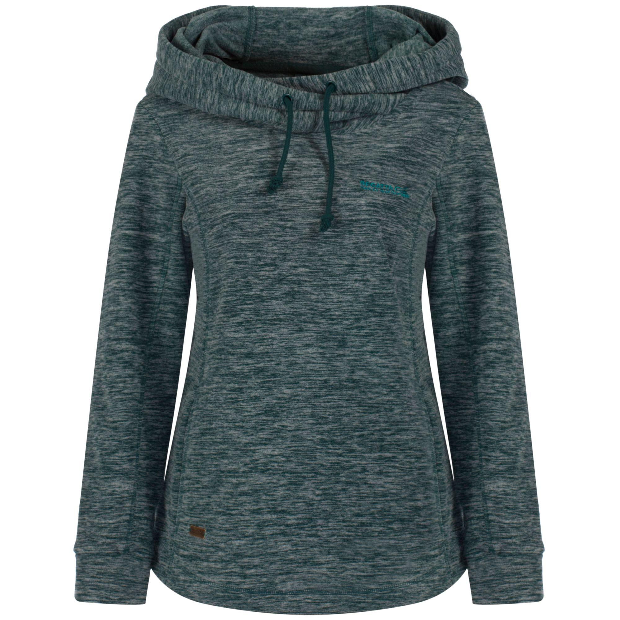 Cowl neck hoodie women