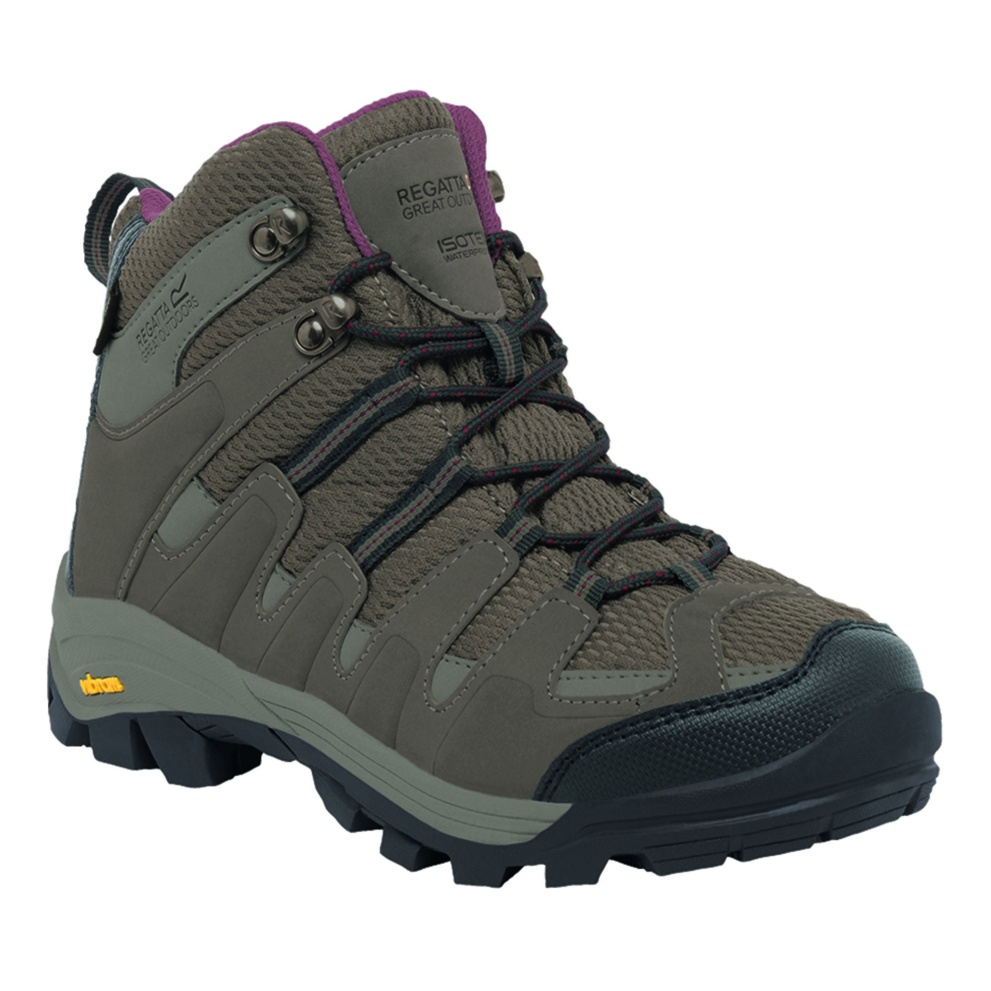Unique Womens Ladies Gola Casual Lace Up Hi Tops Trekking Trail Hiking Boots Size | EBay