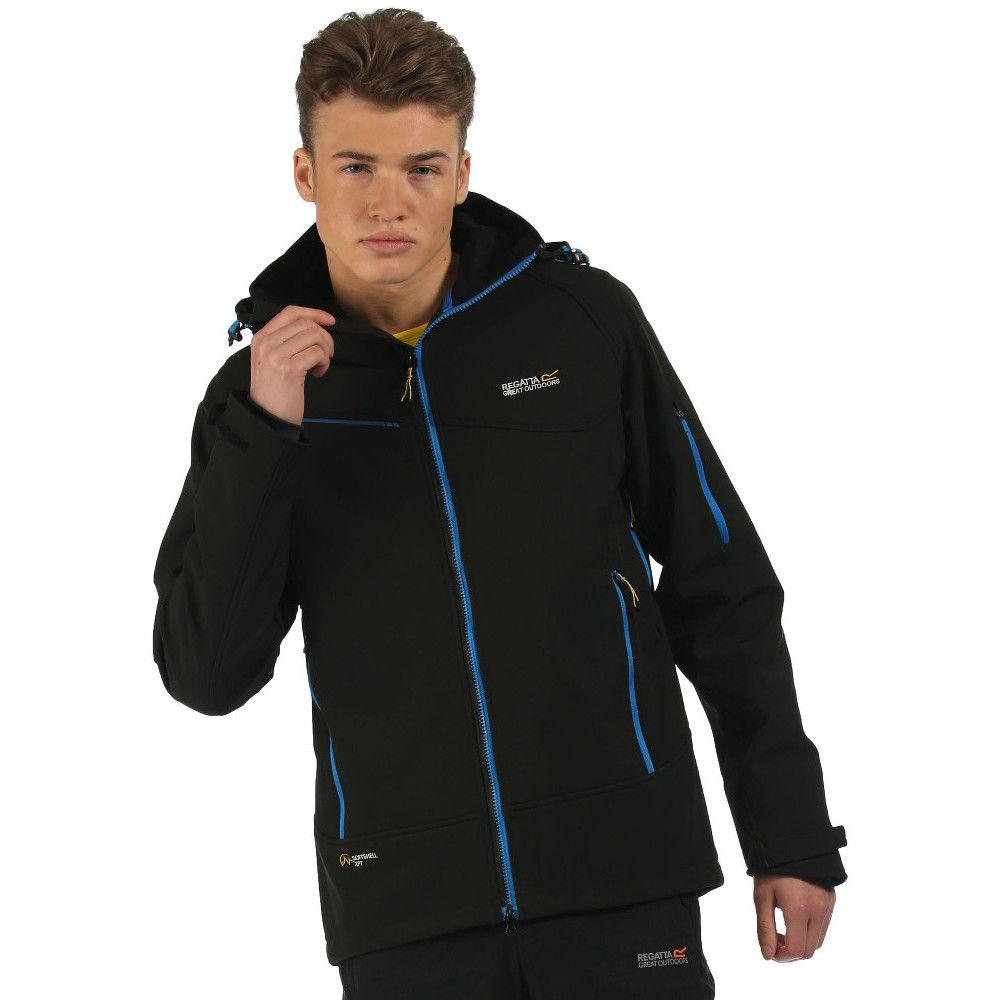 Mens regatta jacket - Regatta Great Outdoors Mens Hewitts Ii Softshell Jacket