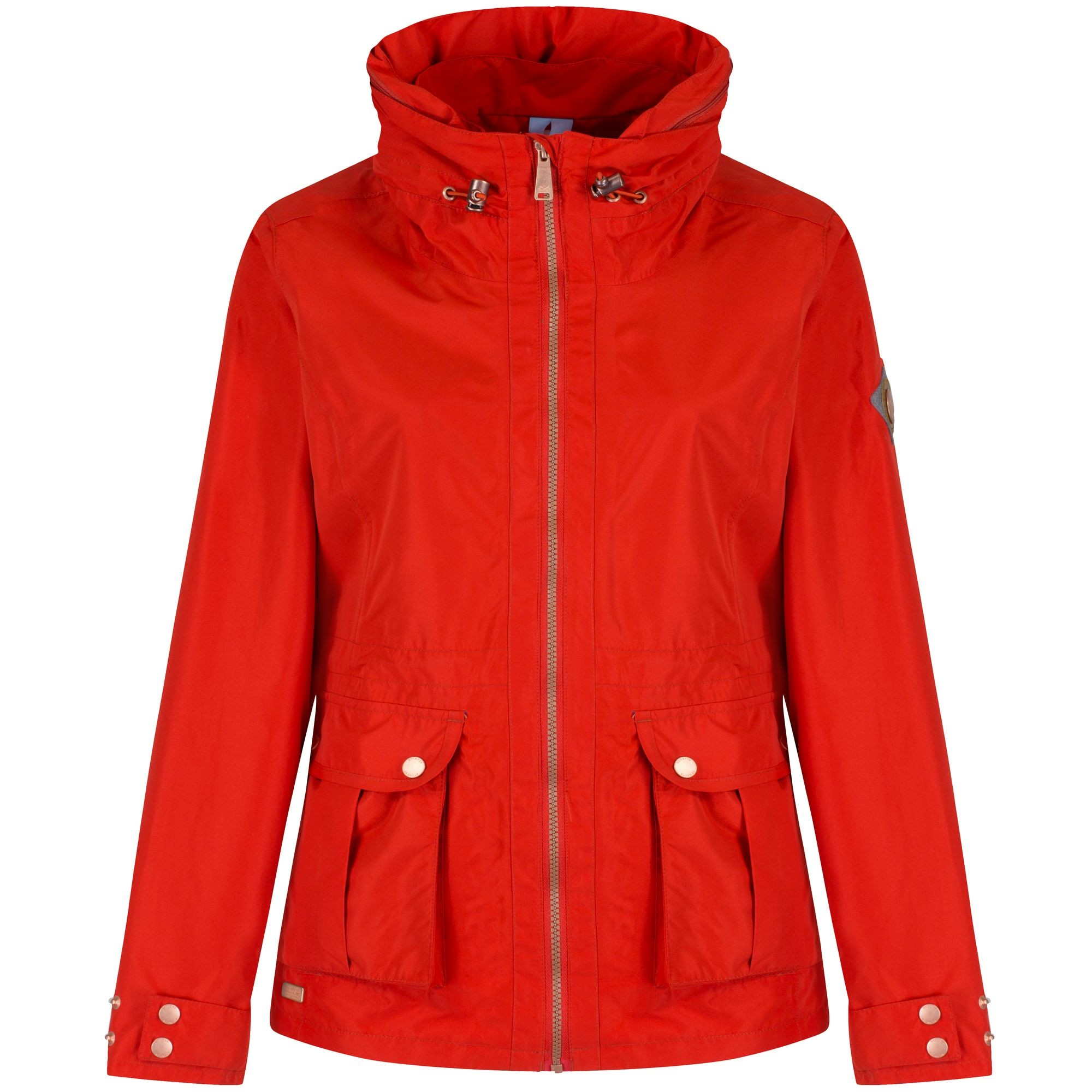 Regatta Great Outdoors Womens/Ladies Nardia Waterproof Rain Jacket ...