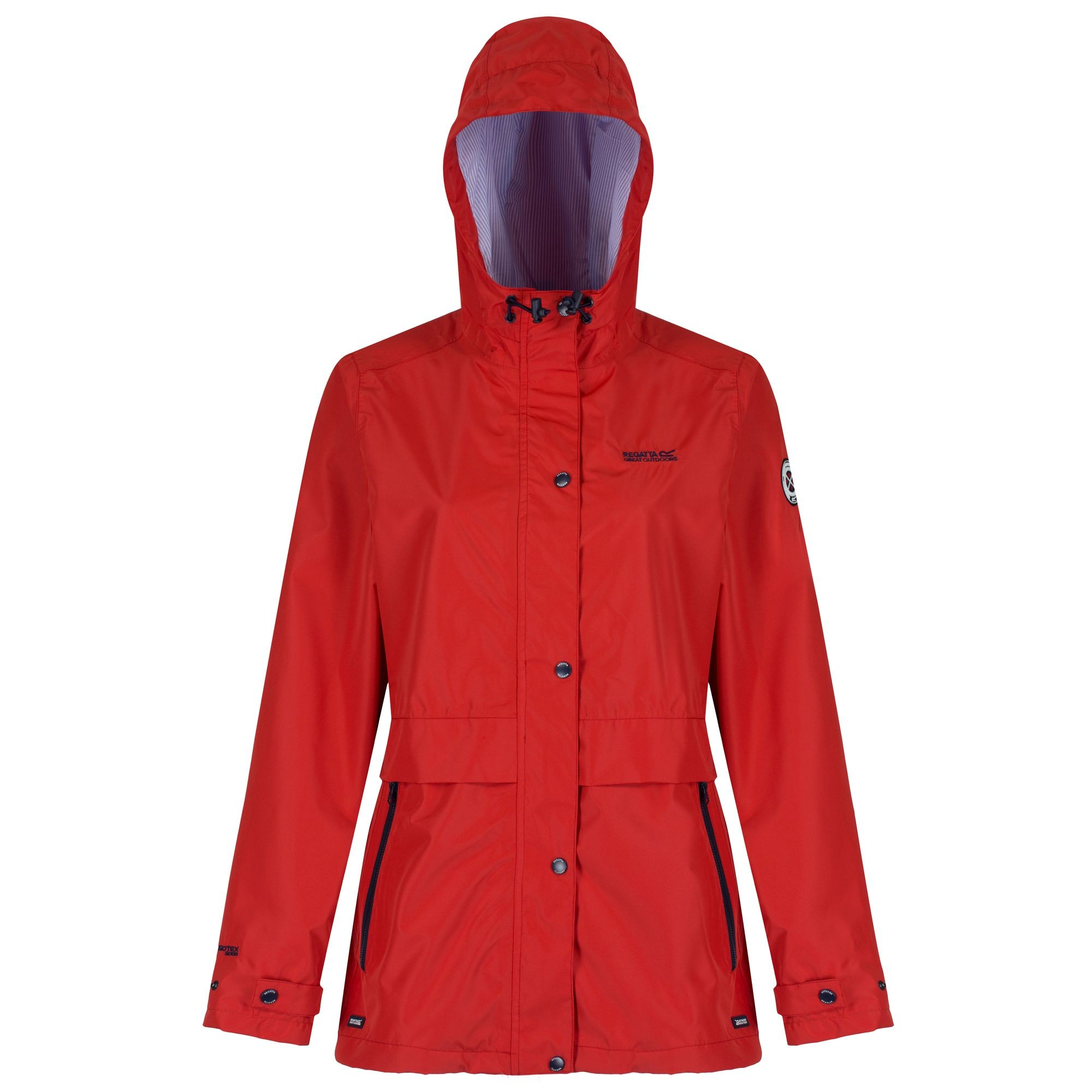 Regatta Great Outdoors Womens/Ladies Bayleigh Waterproof Rain ...
