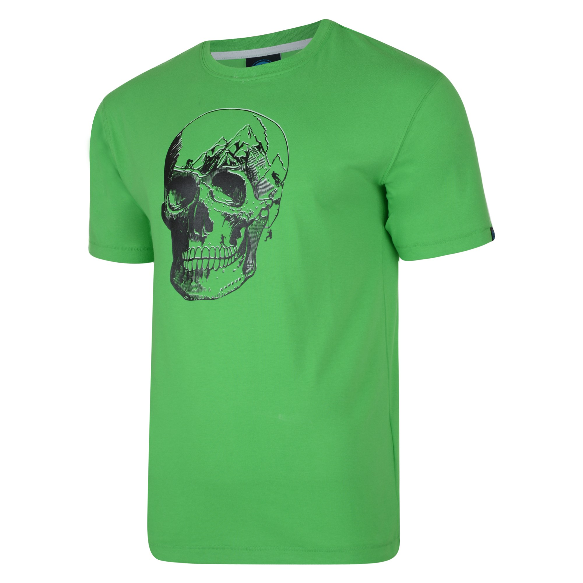 dare 2b herren skull mount t shirt mit totenkopf druck ebay. Black Bedroom Furniture Sets. Home Design Ideas