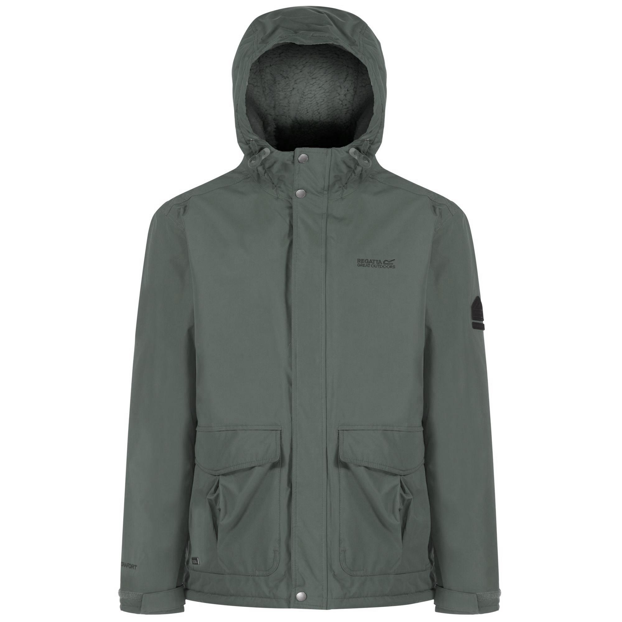 Mens regatta jacket - Regatta Great Outdoors Mens Heritage Sternway Waterproof Jacket