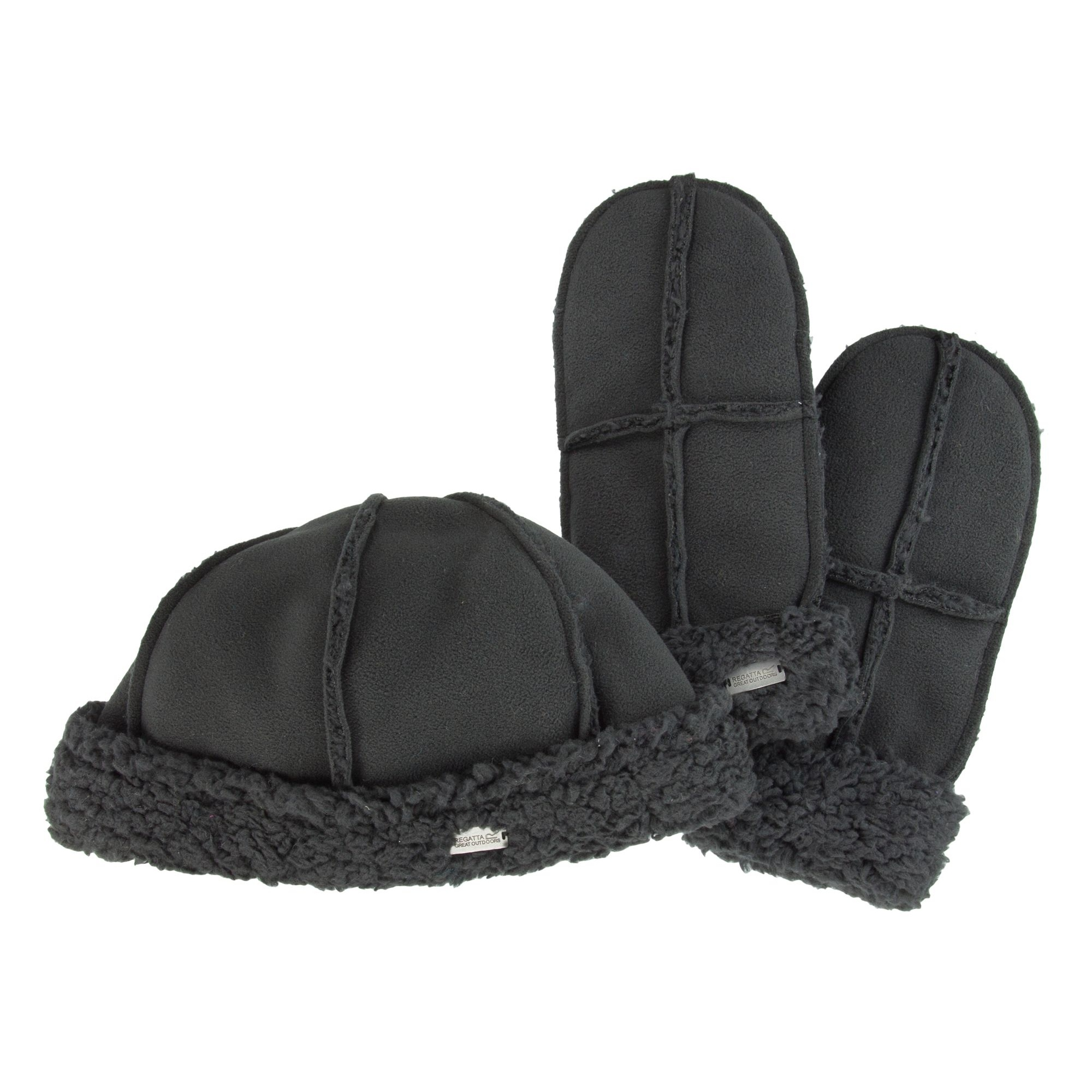 regatta great outdoors womens cozy hat and glove