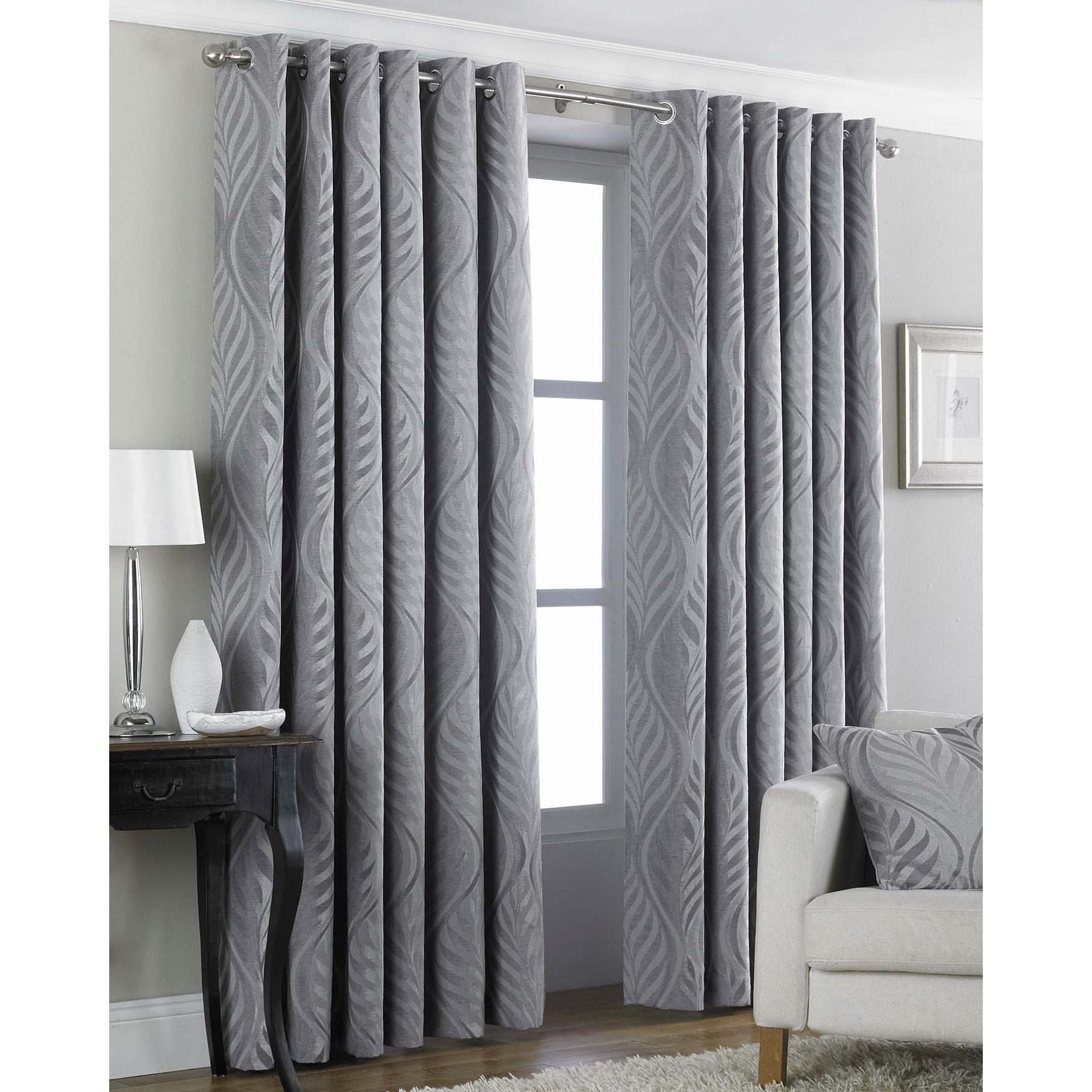 Riva home cortinas de anillas modelo heligan ebay - Anillas de cortinas ...
