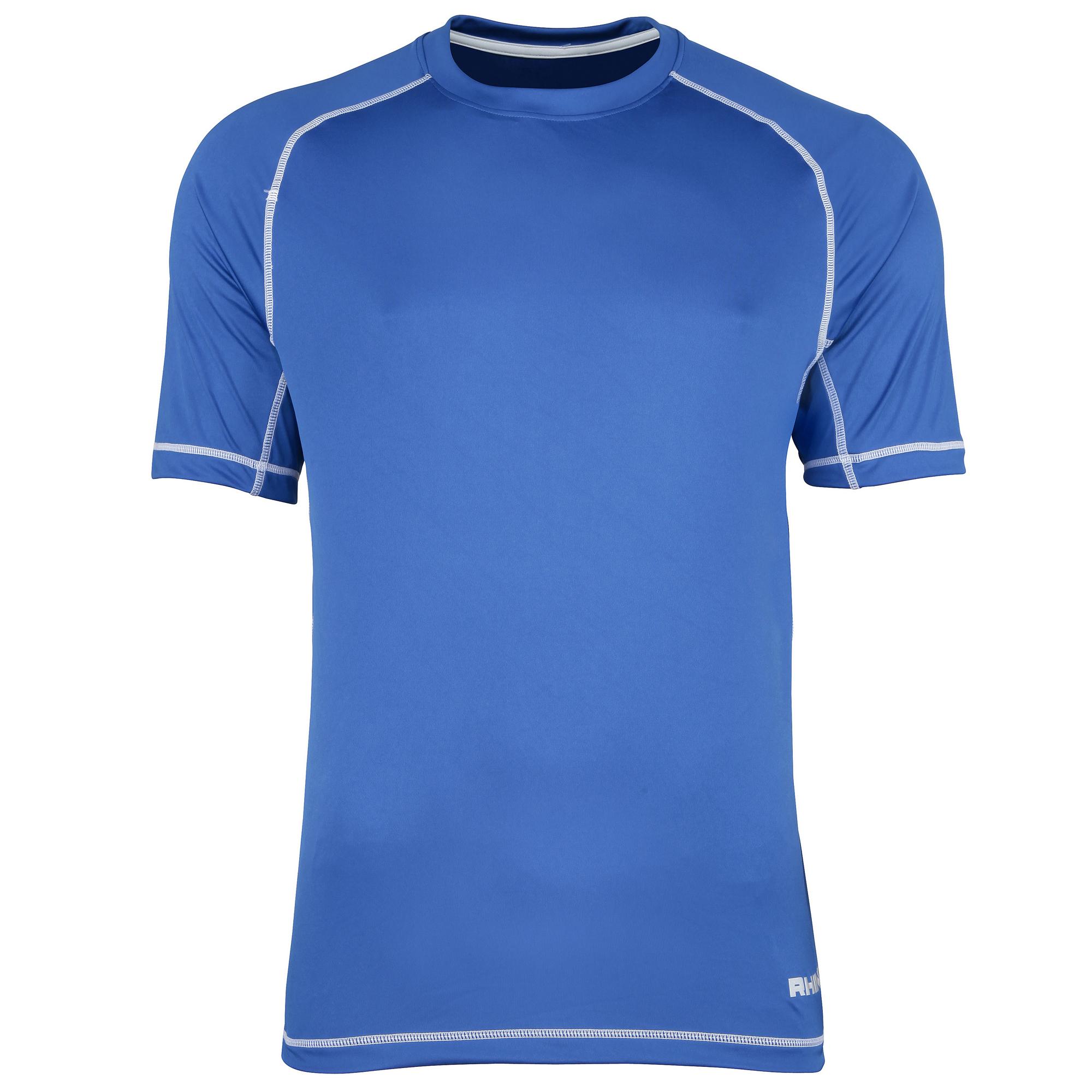 Rhino mens mercury breathable performance sports t shirt for Mens sport t shirts