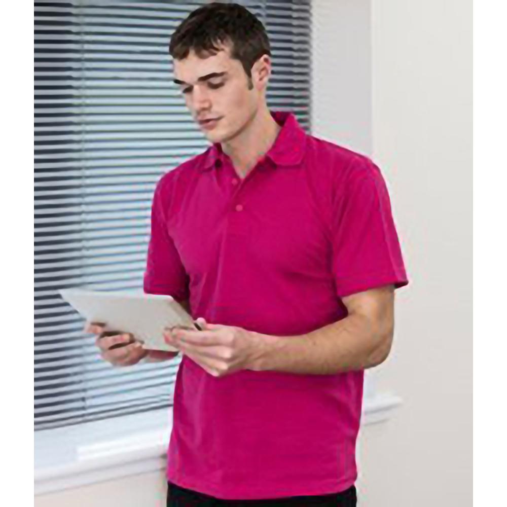 Rtxtra Mens Pique Knit Classic Short Sleeve Plain Basic
