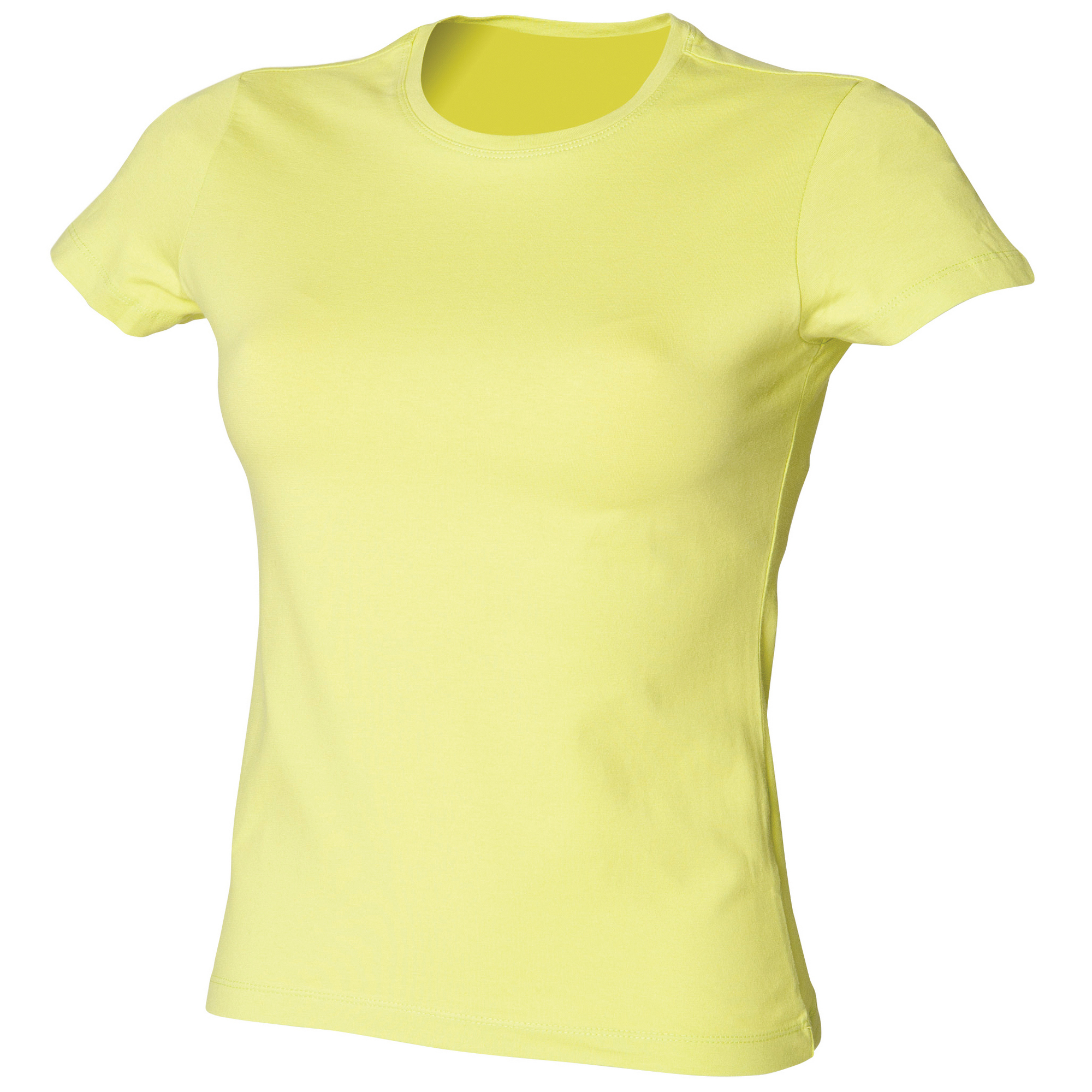 Skinni-Fit-Ladies-Womens-Stretch-Casual-T-Shirt-19-Colours-S-2XL