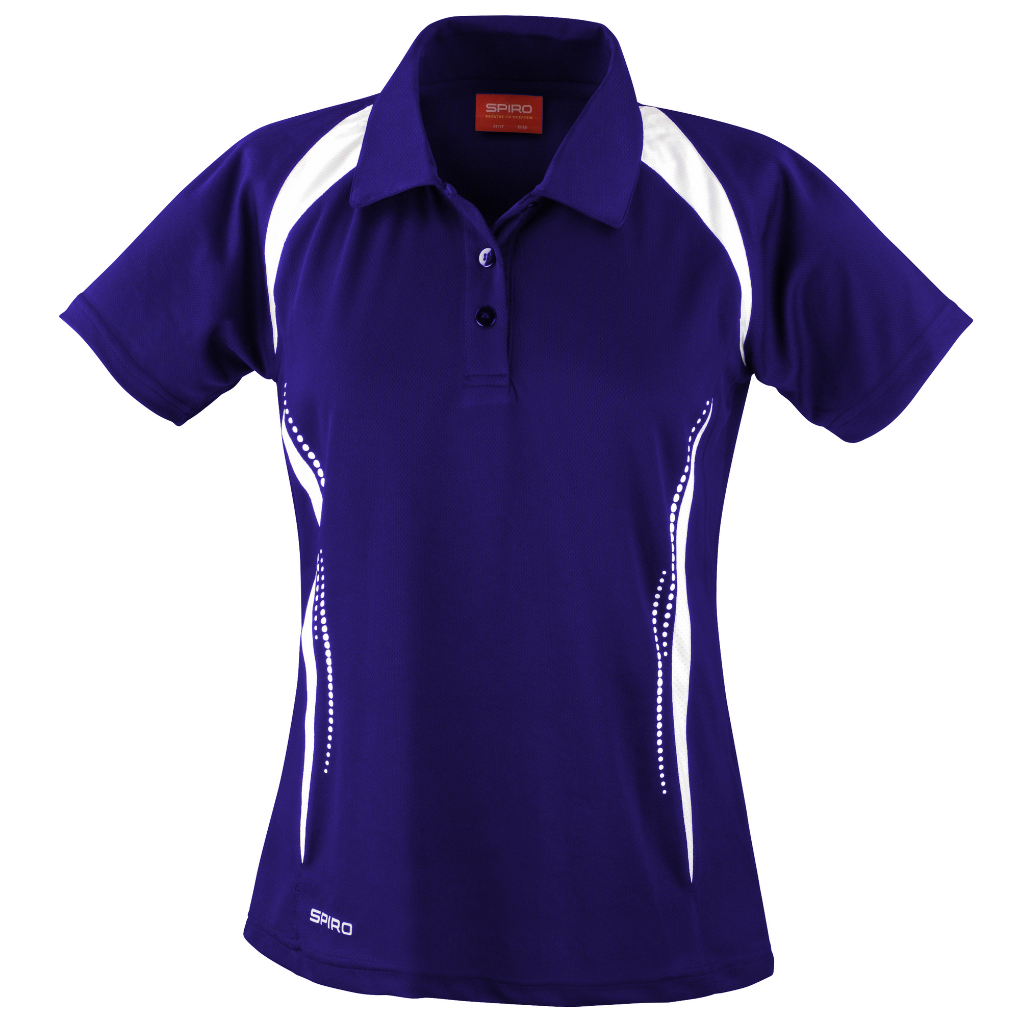 spiro womens ladies sports team spirit performance polo shirt ebay. Black Bedroom Furniture Sets. Home Design Ideas