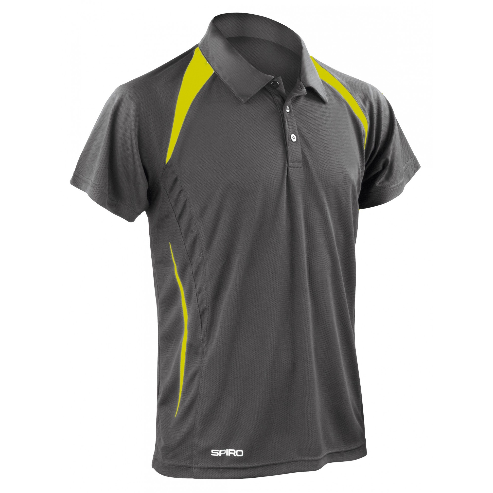 spiro mens sports team spirit performance short sleeve