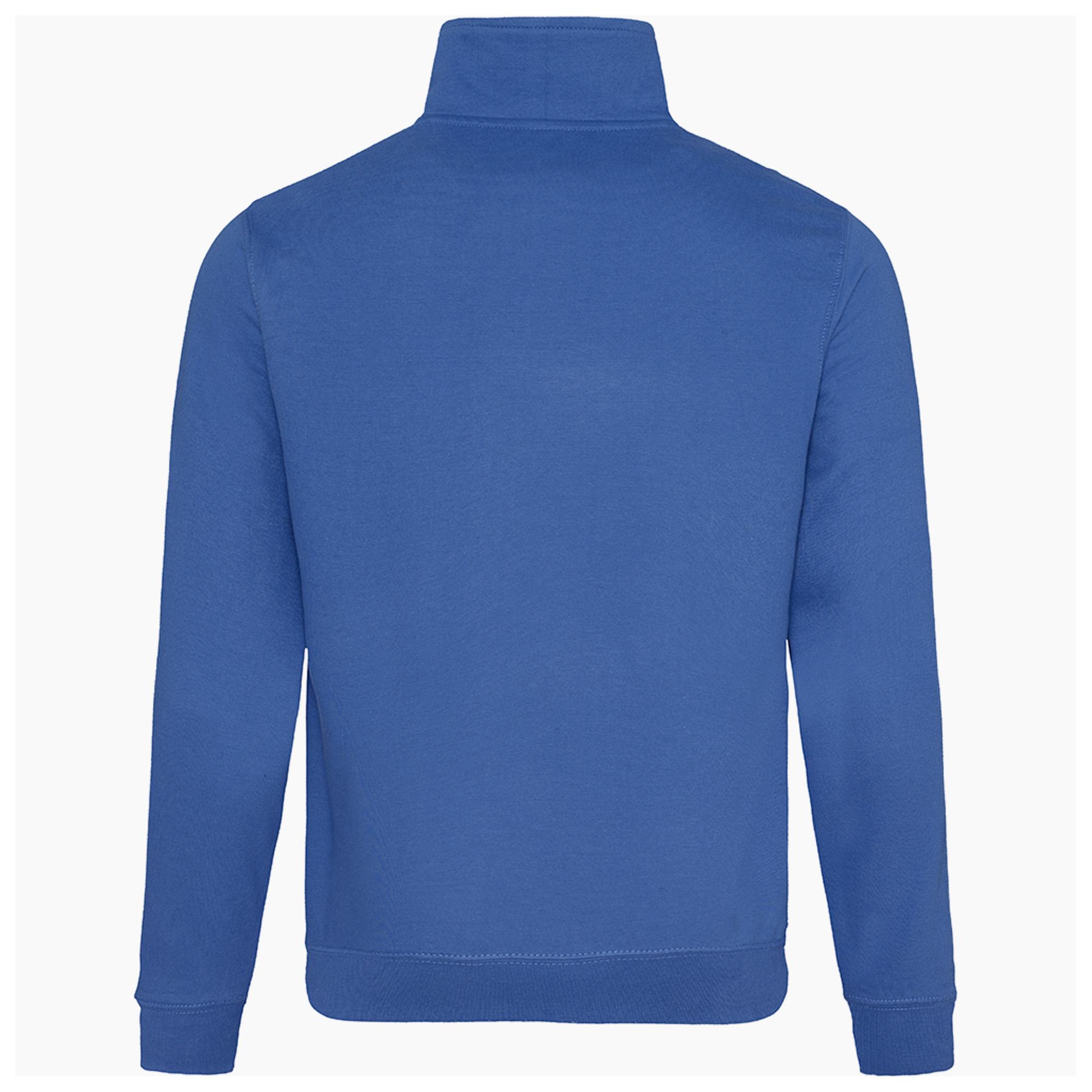 awdis herren sweatshirt pullover mit rei verschluss am. Black Bedroom Furniture Sets. Home Design Ideas