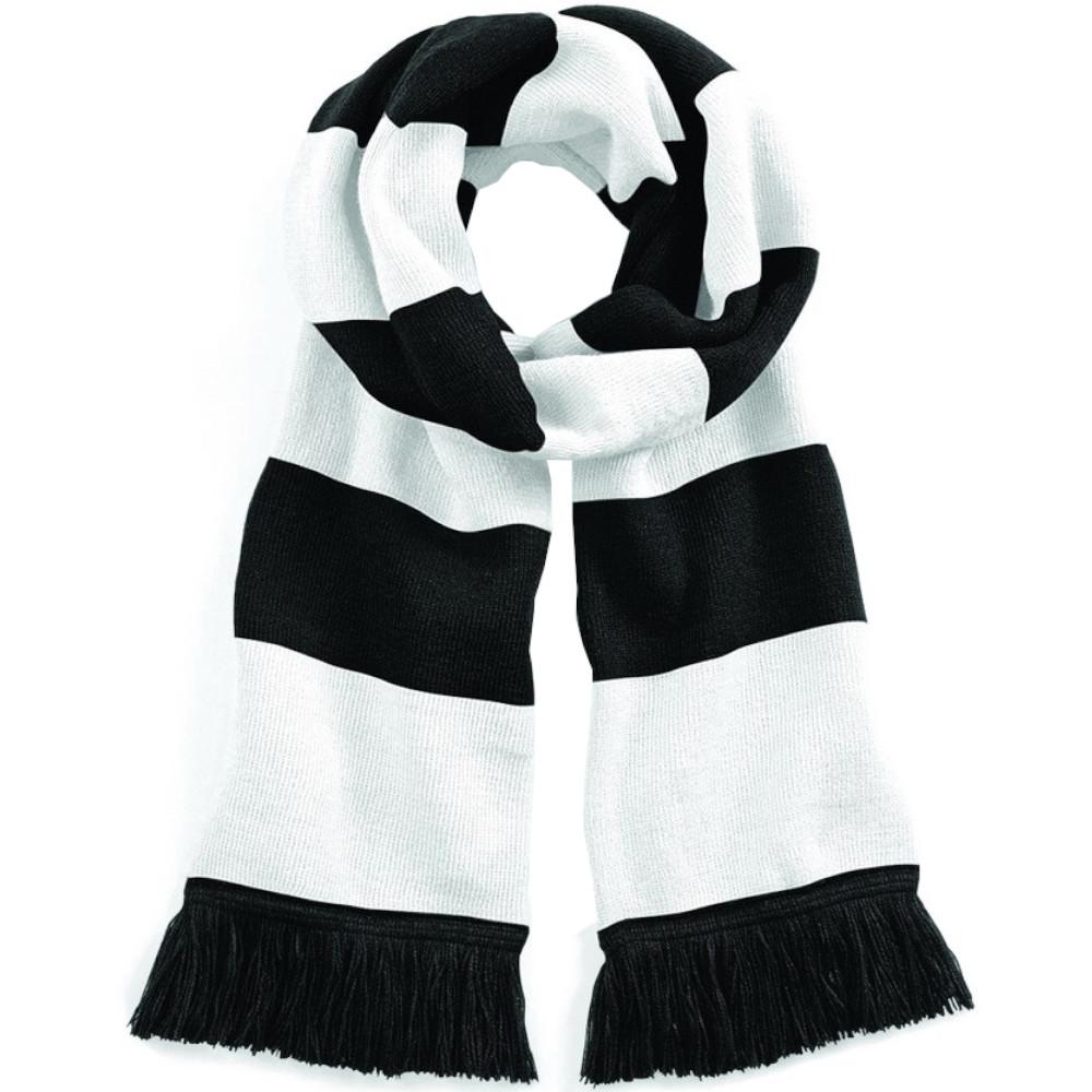 beechfield varsity mens womens winter warm scarf