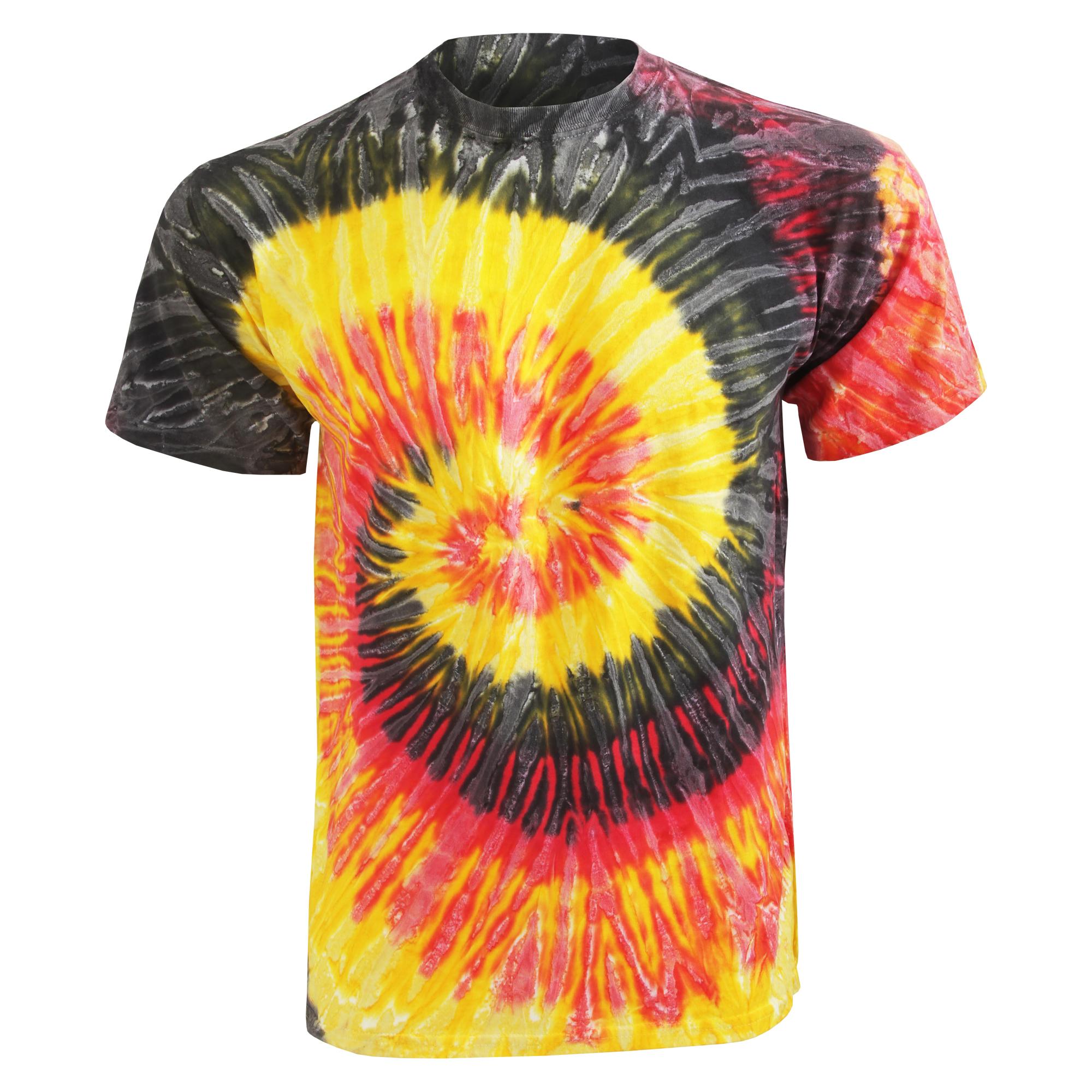 Design your own t shirt ebay - Colortone Womens Ladies Rainbow Tie Dye Short Sleeve