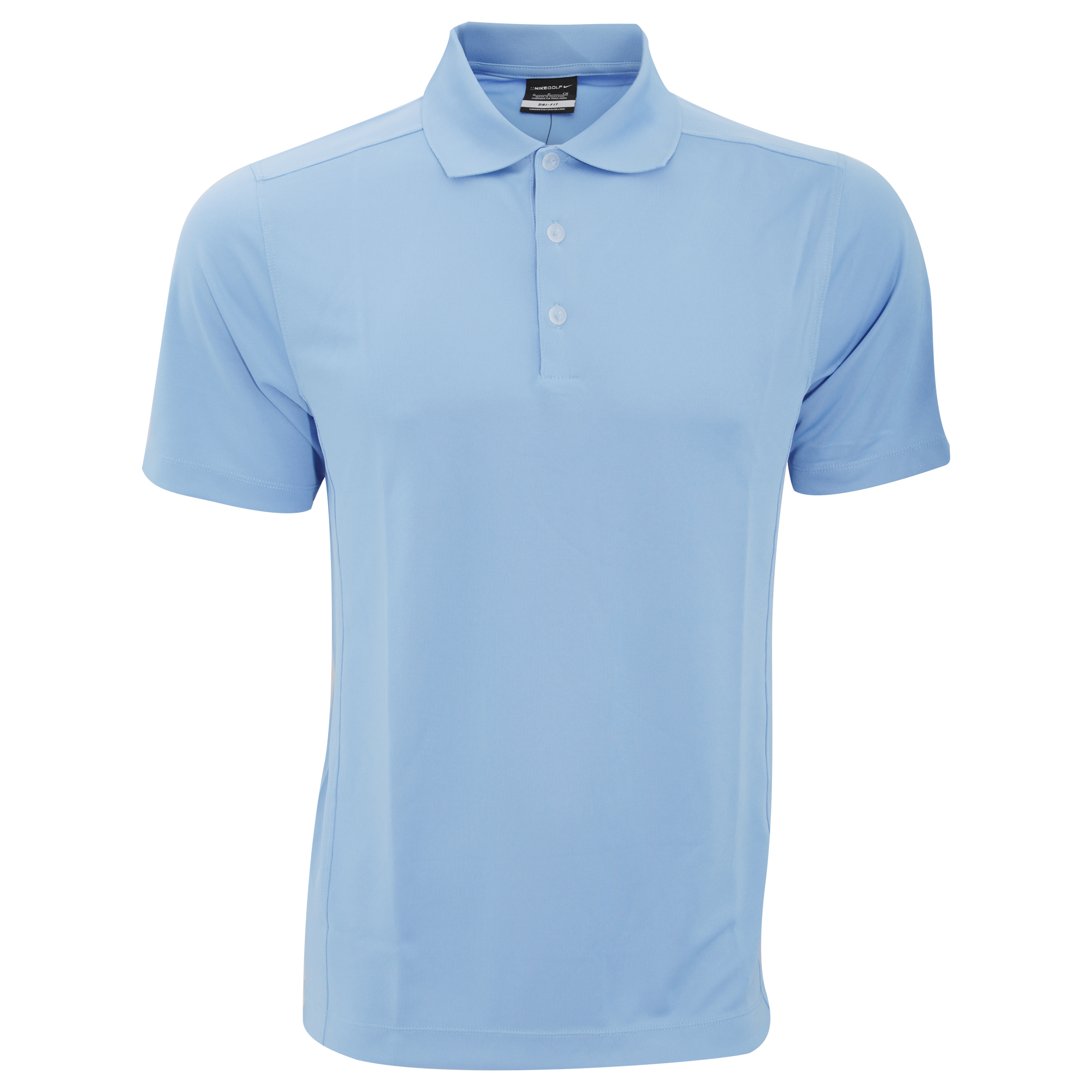 Nike mens dry fit sports golf polo shirt 6 colours s m l for Nike cotton golf shirts