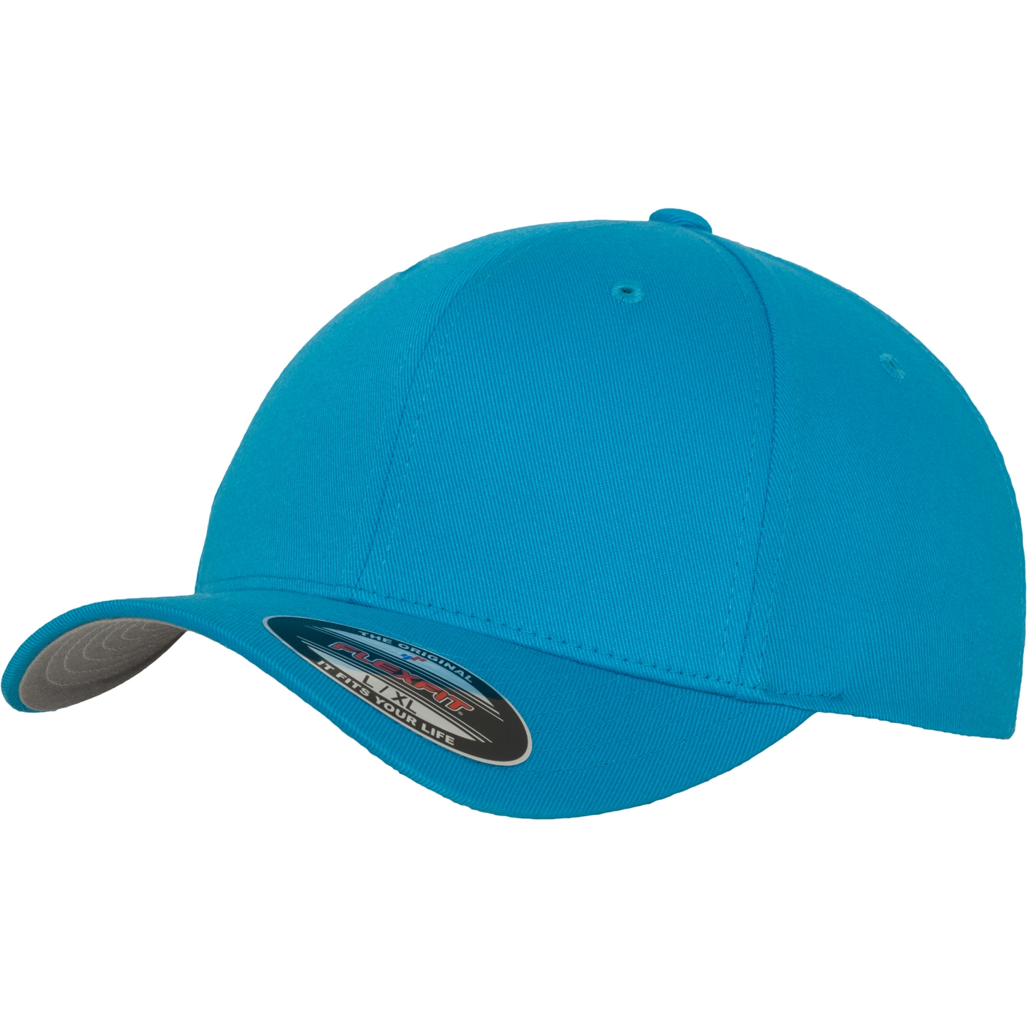 Yupoong mens flexfit fitted baseball cap ebay