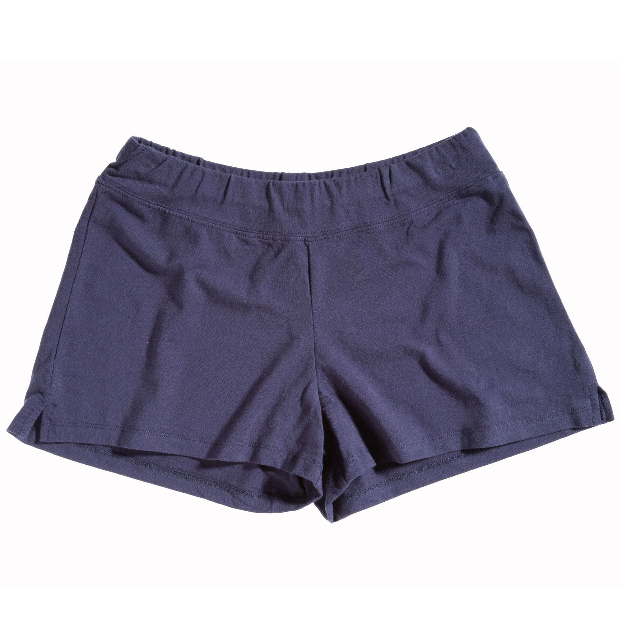 These ruched booty shorts are made of 4-way stretch matte nylon/spandex for comfort and ease of motion, and a wide elastic waistband and banded leg openings ensure a comfortable and secure fit. Child sizes have a 1 ½