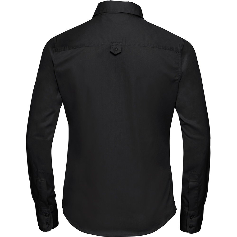 Russell Collection Womens Ladies Long Sleeve Classic Twill