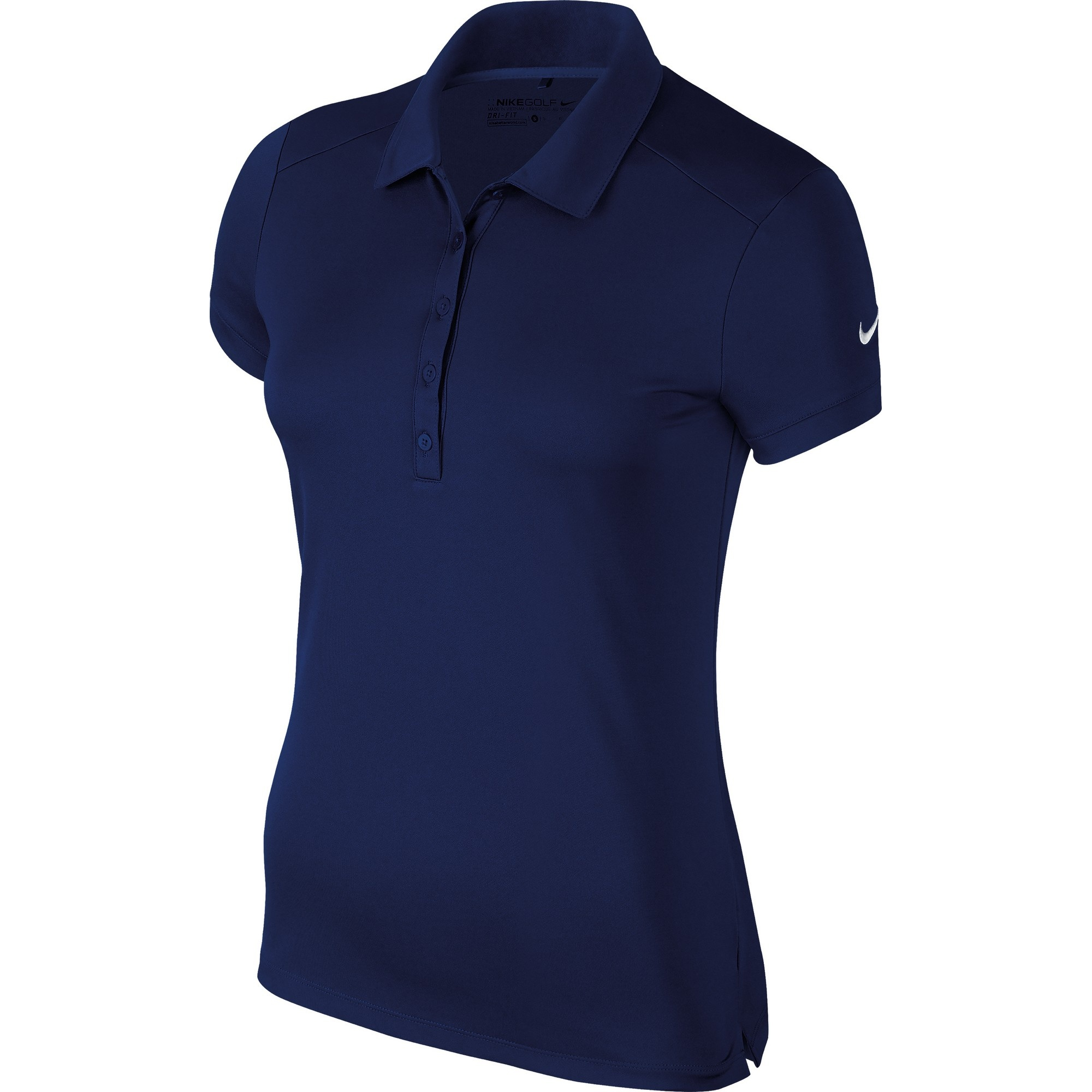 Nike Womens Ladies Victory Short Sleeve Solid Polo Shirt