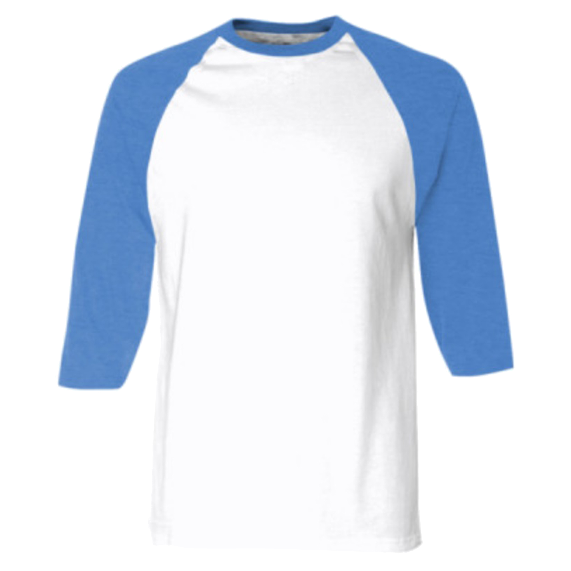 american apparel unisex contrast 3 4 length sleeve t shirt