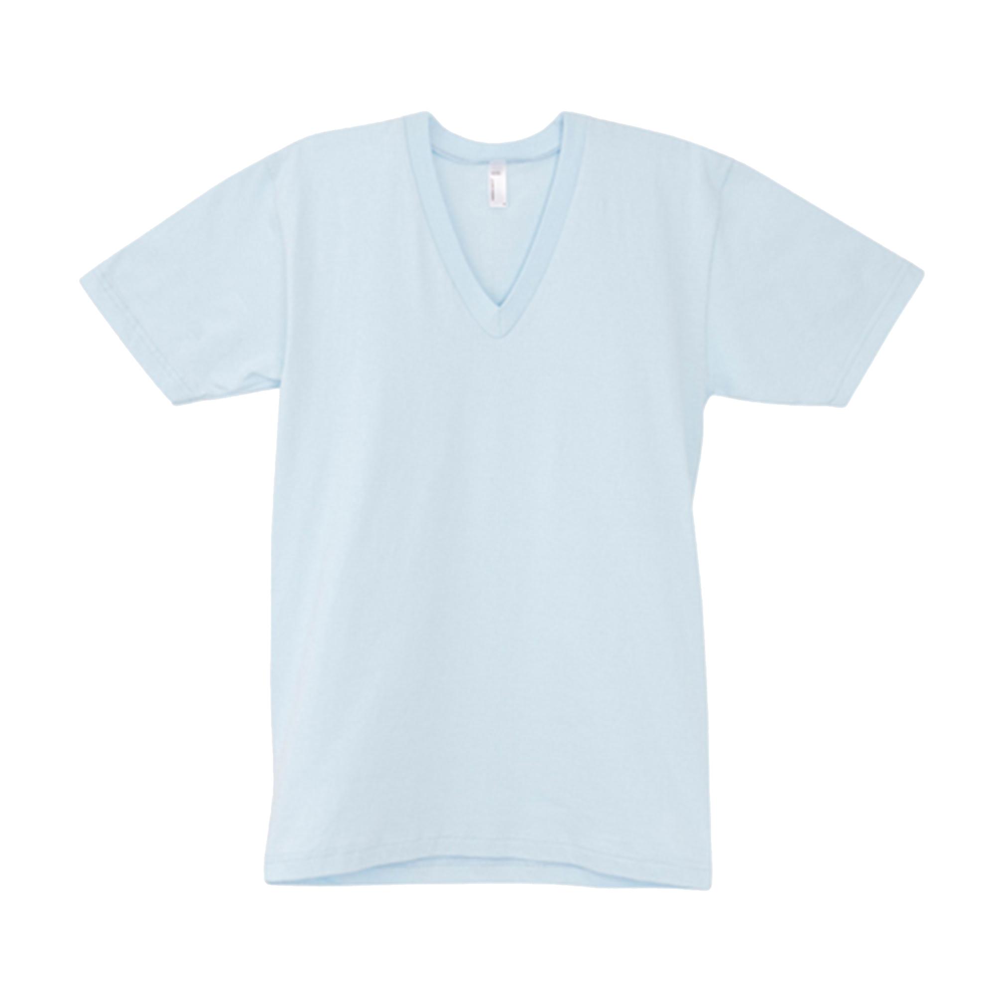 American apparel mens womens short sleeve v neck plain t for Mens plain v neck t shirts