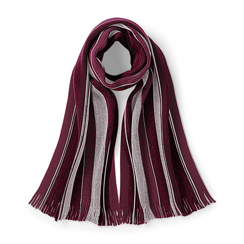 beechfield mens striped college scarf ebay
