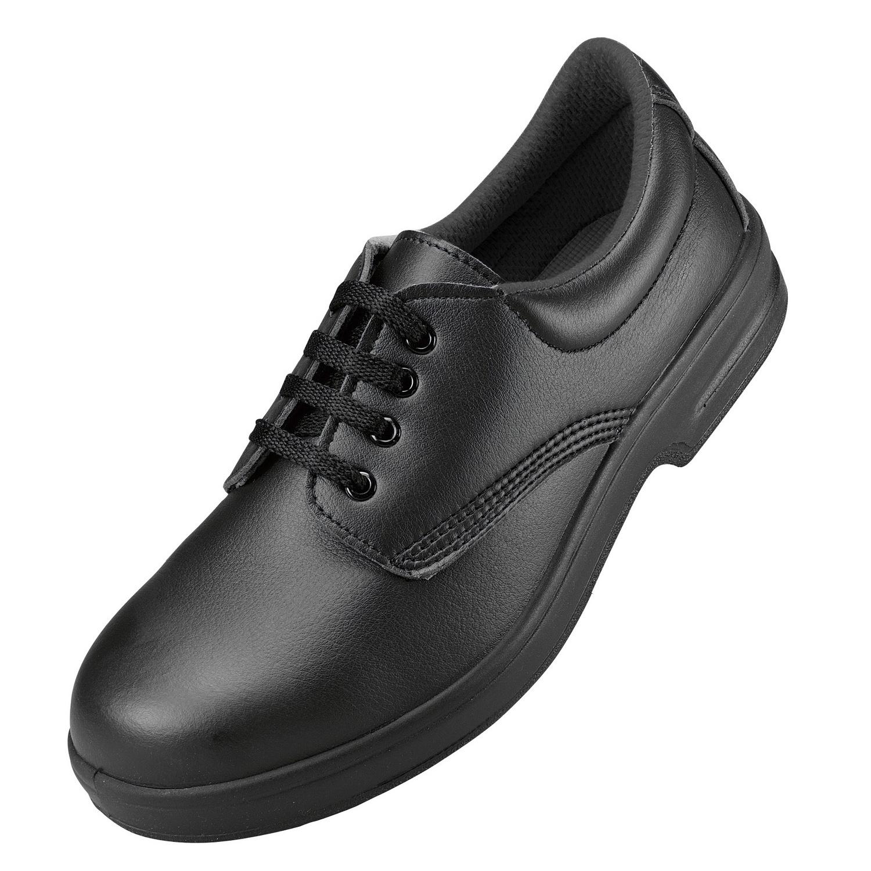 comfort grip unisex slip resistant lace up safety shoes ebay